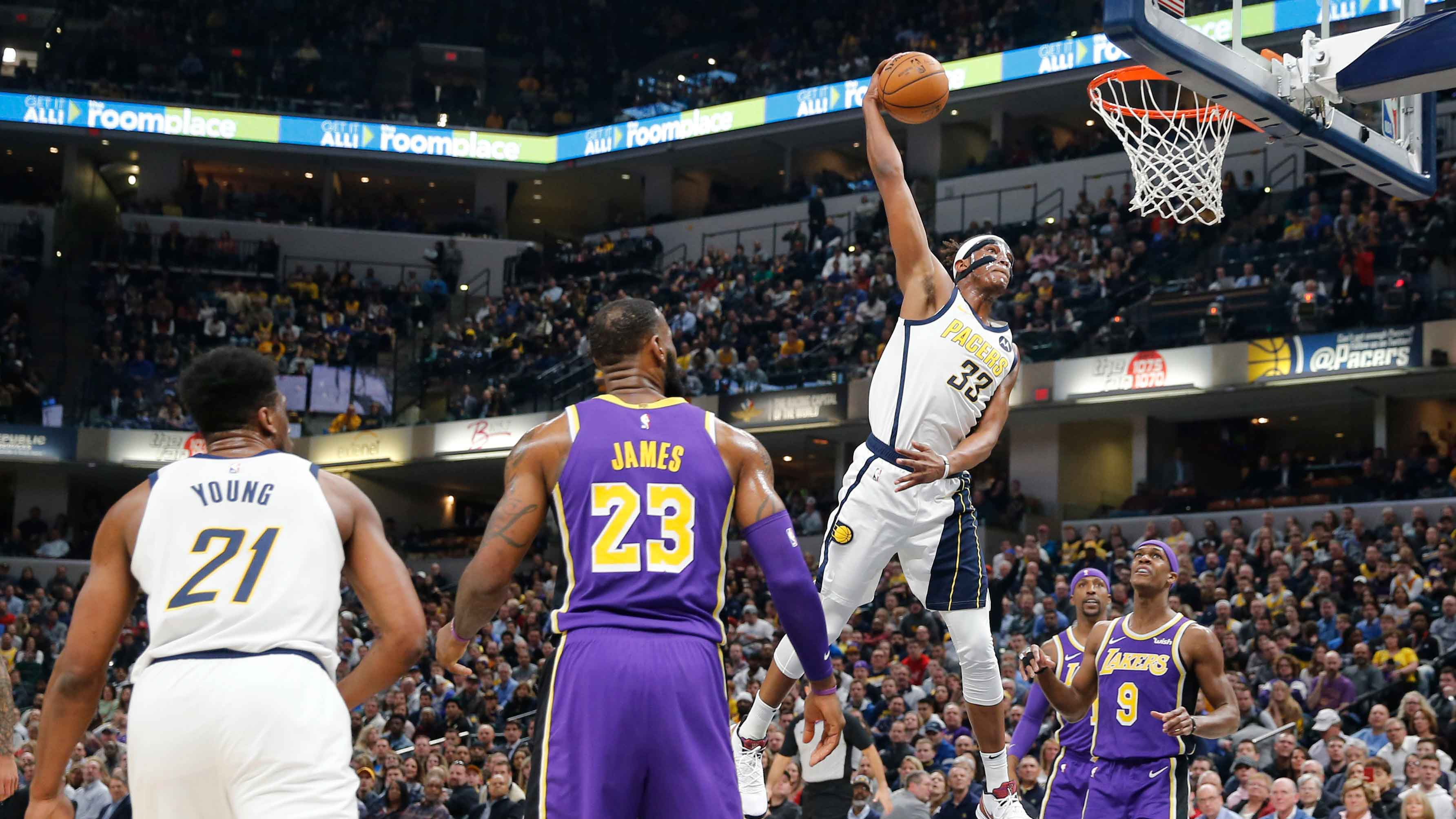 GAME RECAP: Pacers 136, Lakers 94