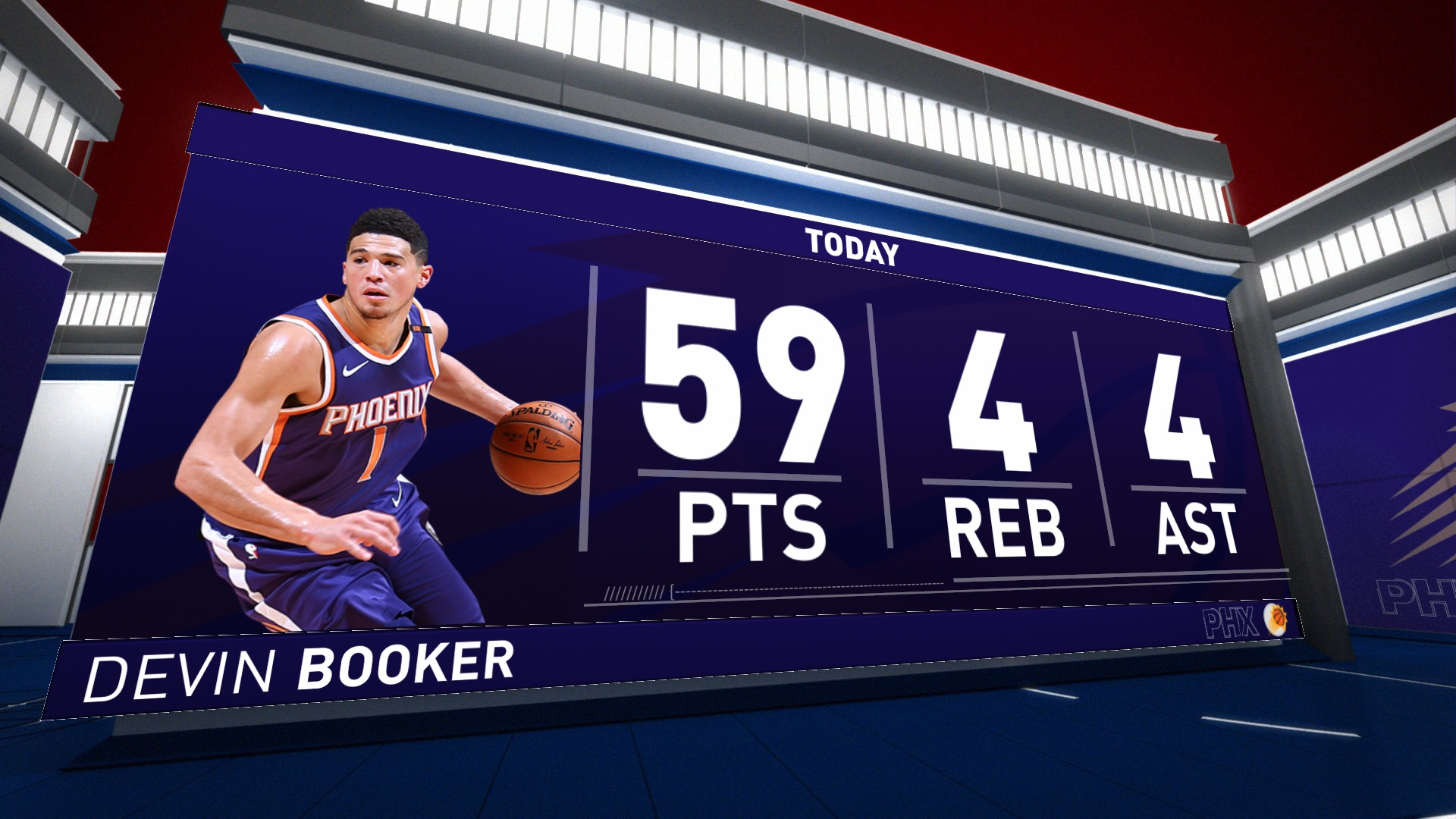 Must-See: Devin Booker scores 59 points vs. Jazz