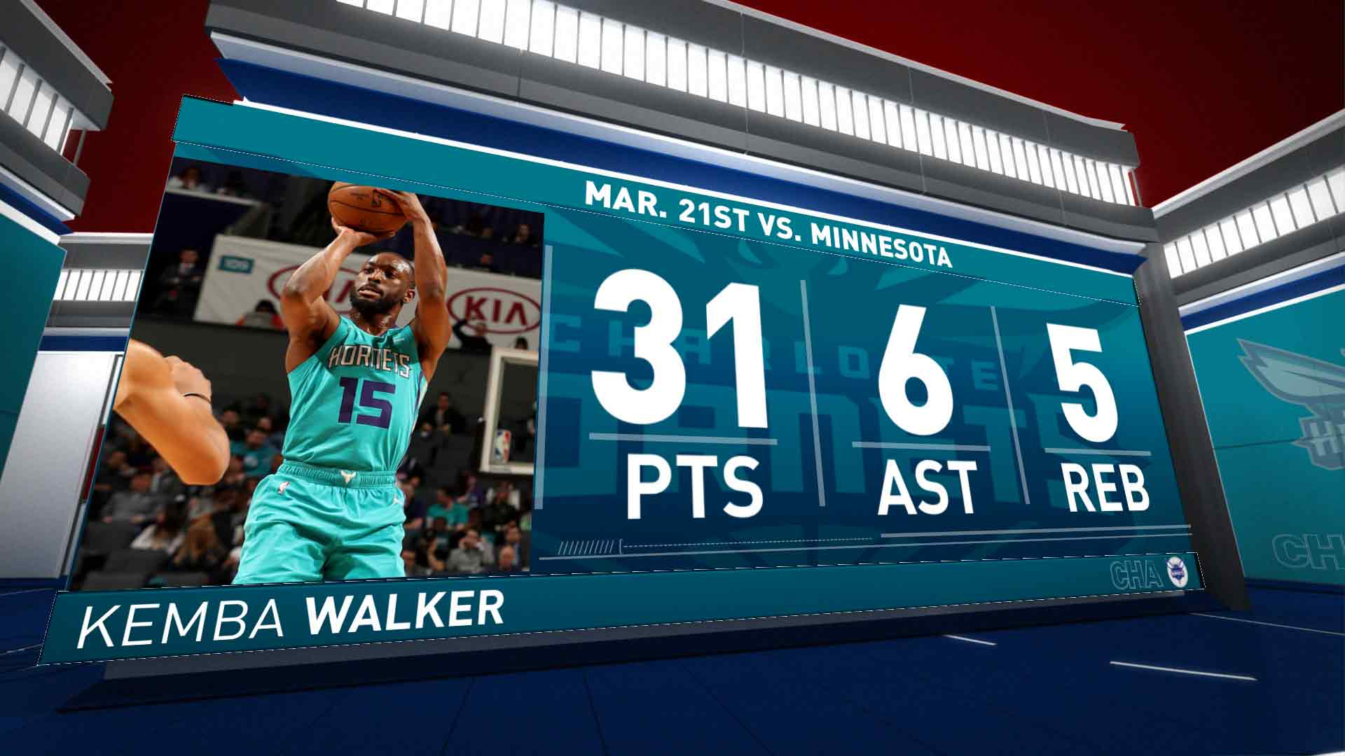 Kemba Walker (31 points) Highlights vs. Minnesota Timberwolves