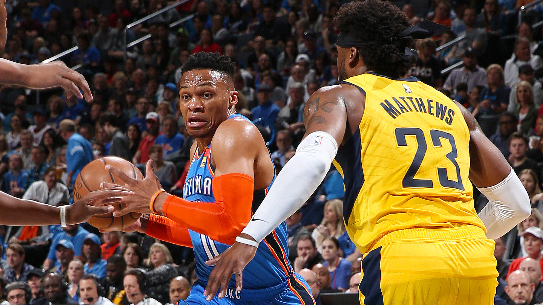 GAME RECAP: Pacers 99, Thunder 107