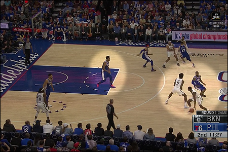 Sixers' pick-and-roll defense