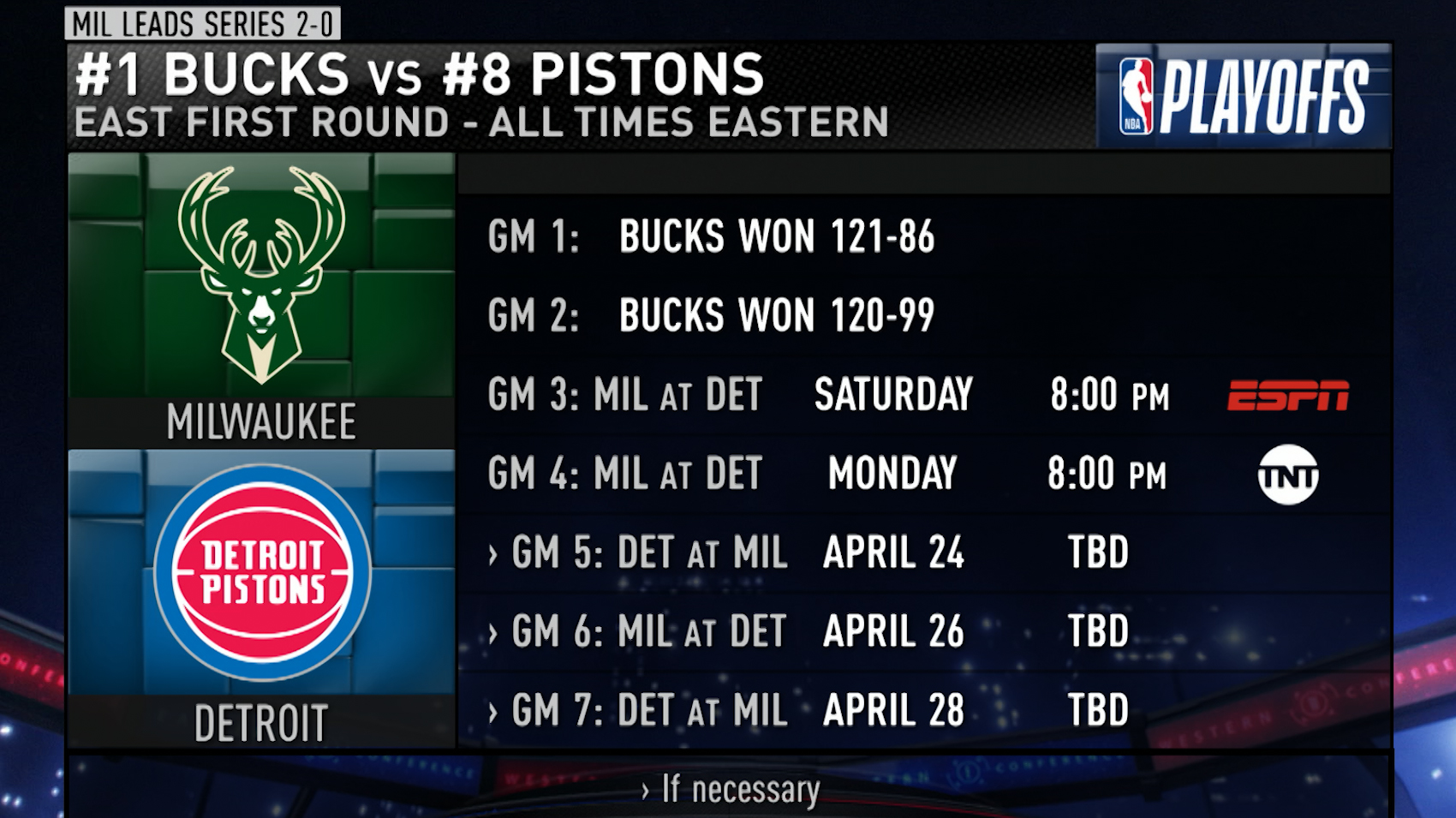 Pistons-Bucks Game 3 preview