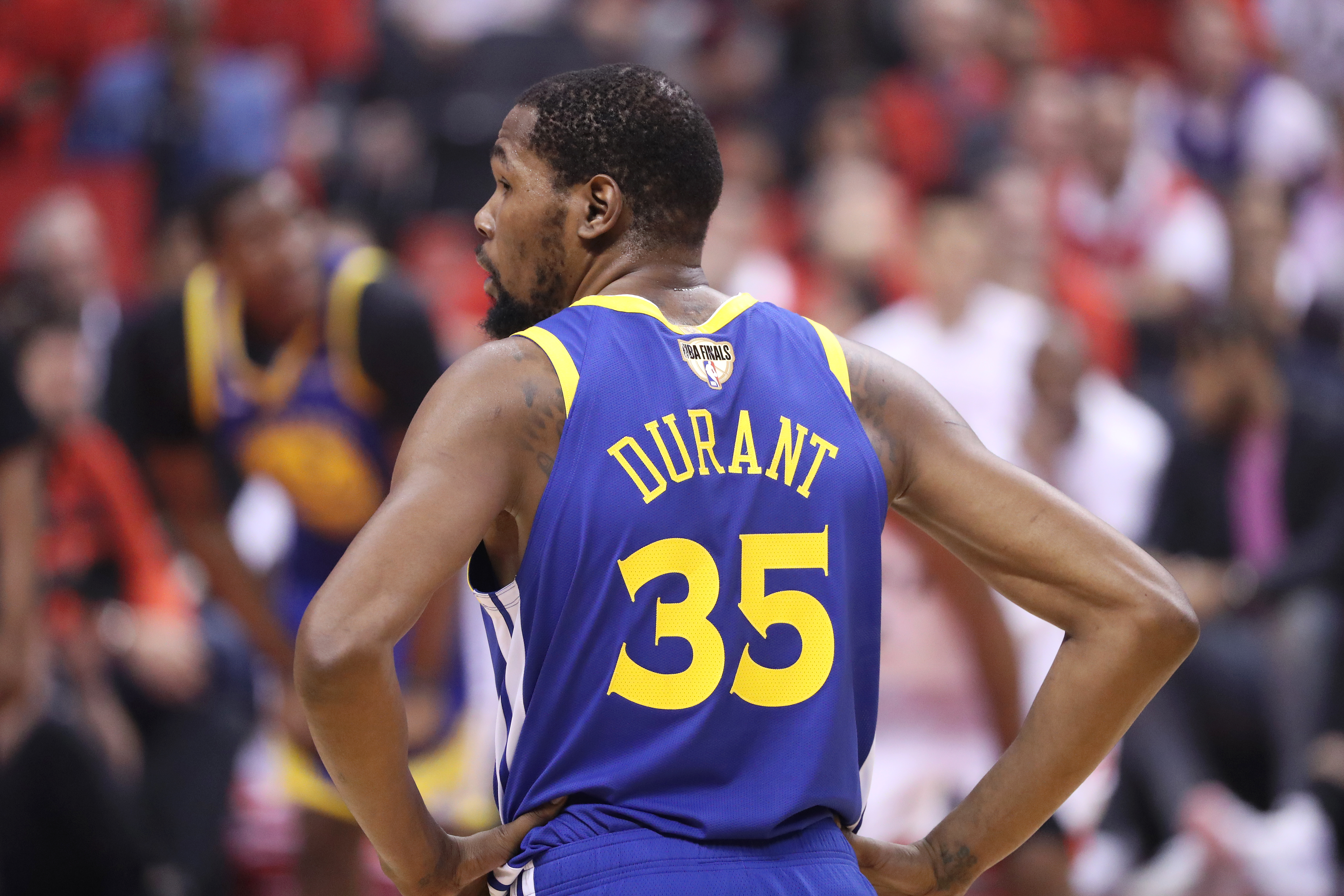 online retailer 2fd9b 64b9a Kevin Durant announces he'll wear No. 7 jersey with the Nets ...