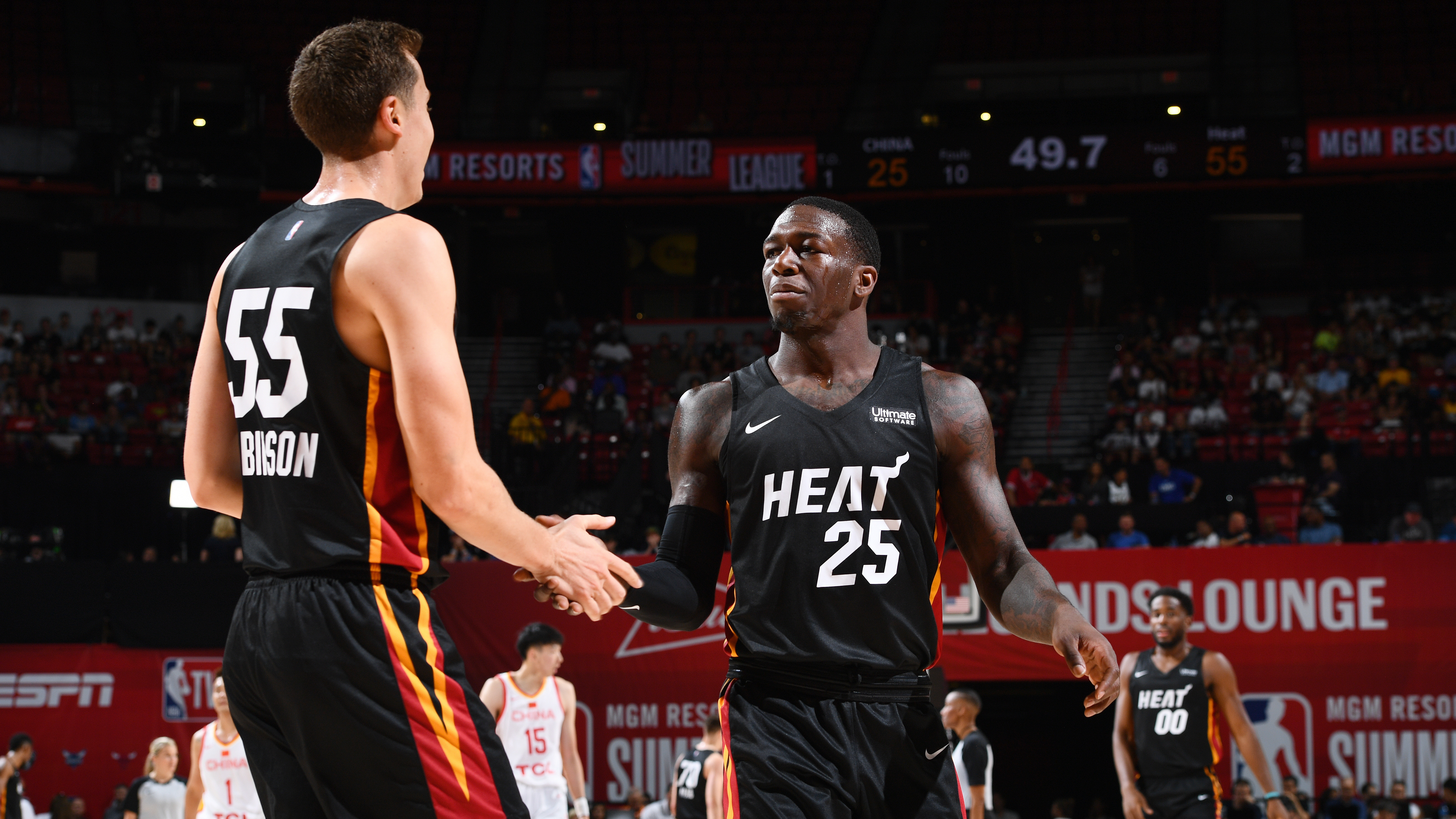 GAME RECAP: Heat 103, China 62