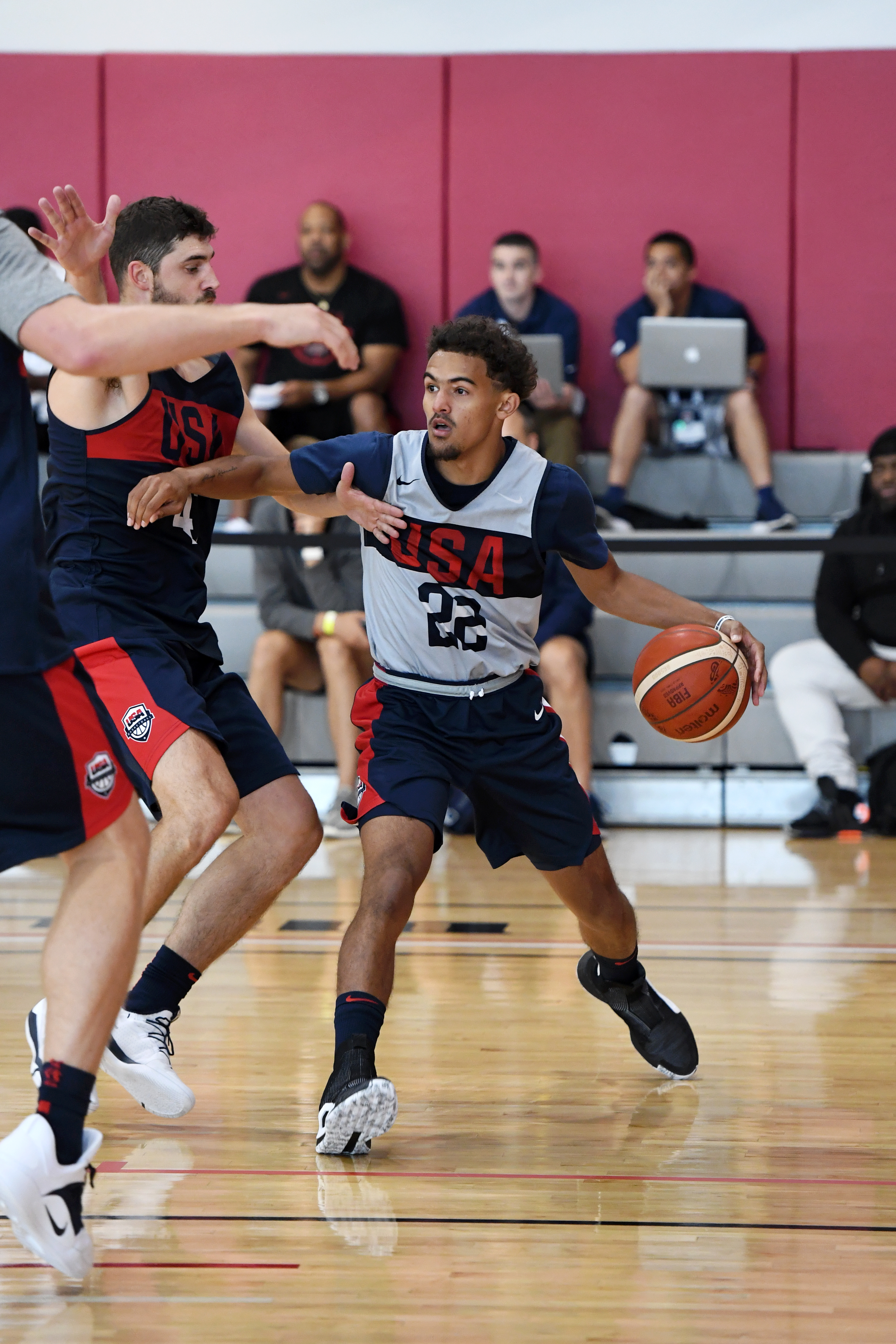 MINOR INJURY FORCES TRAE YOUNG TO LEAVE USA BASKETBALL