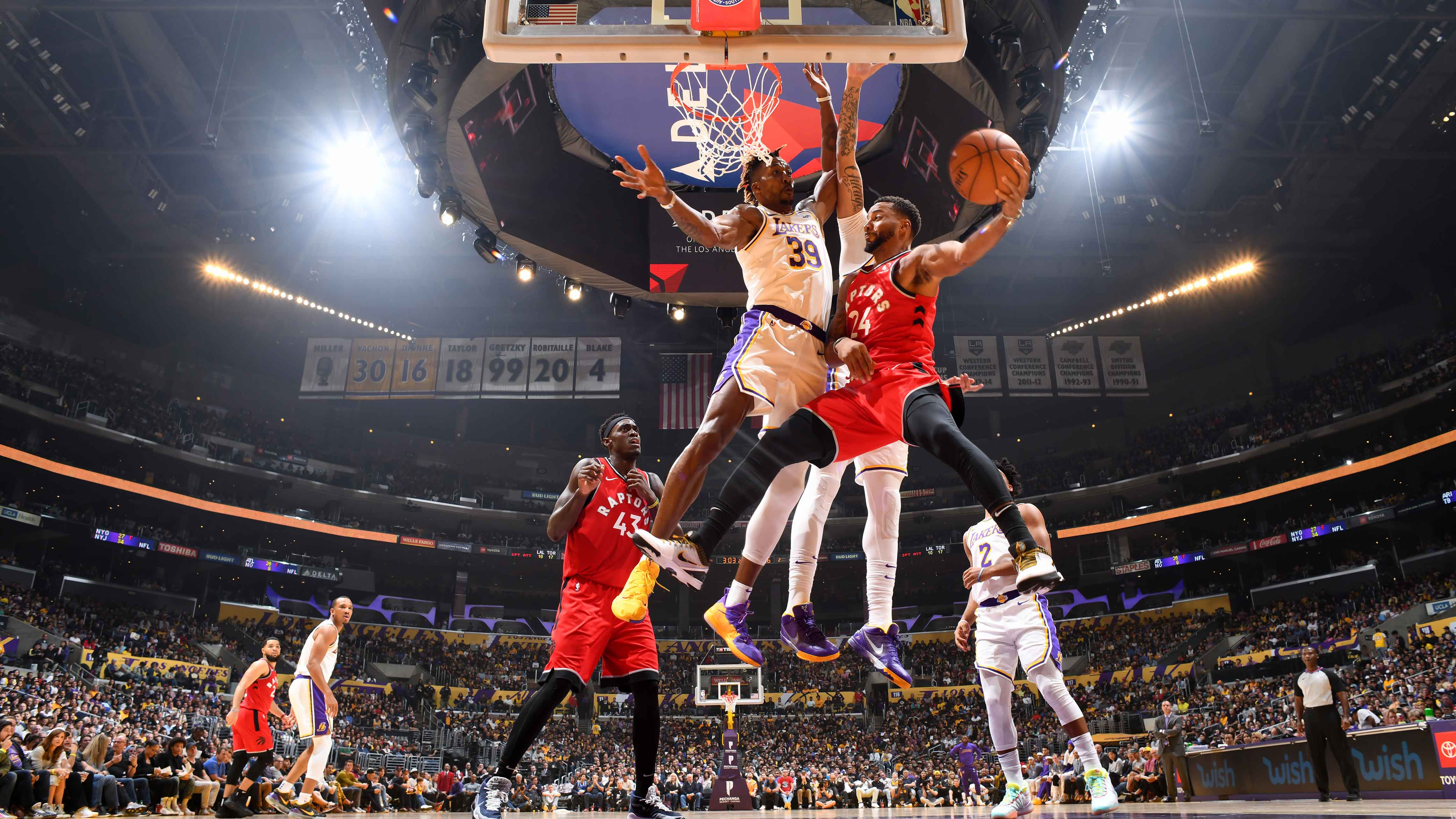 11.11.19. Обзор. GAME RECAP: Raptors 113, Lakers 104