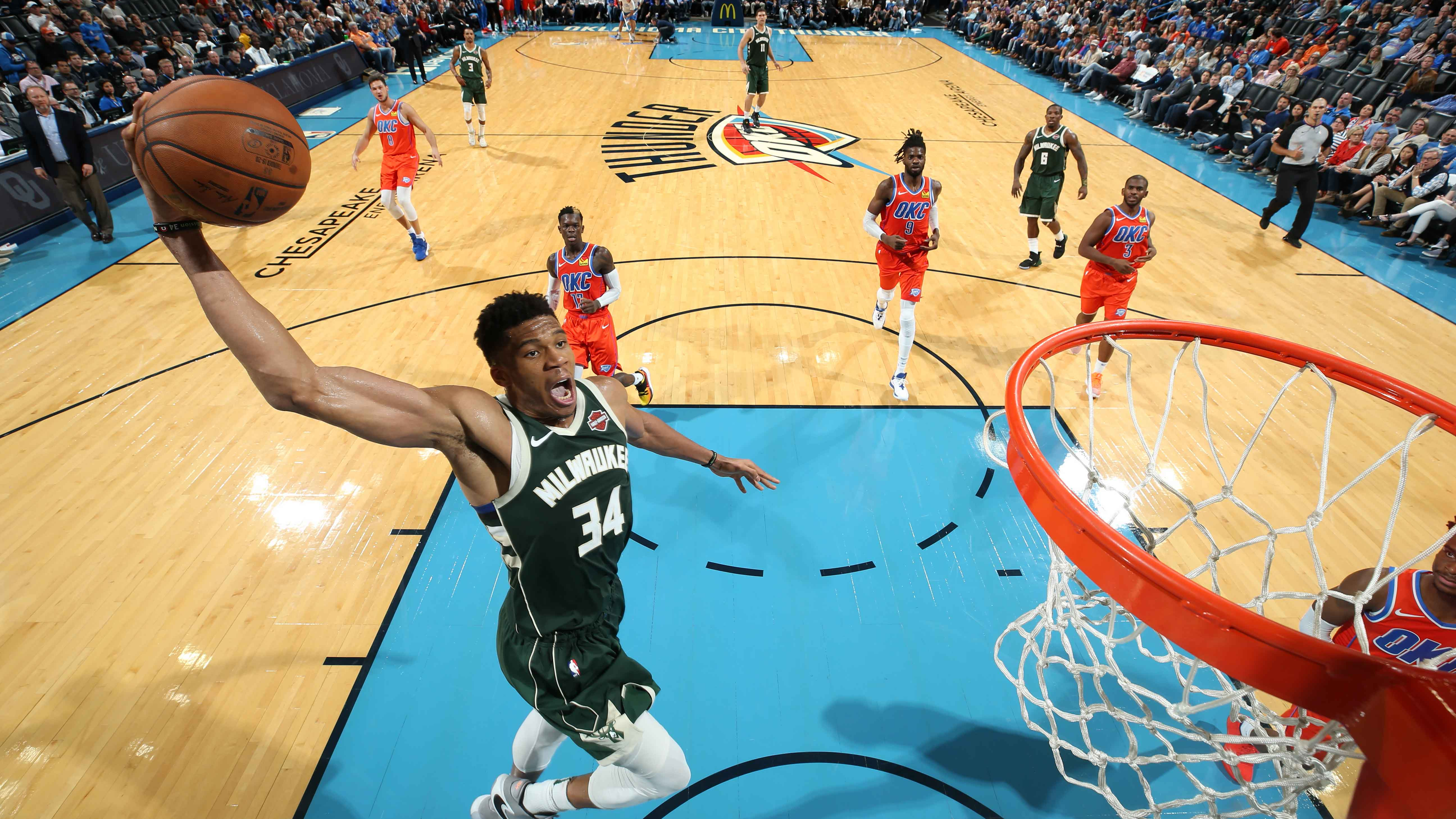 11.11.19. Обзор. GAME RECAP: Bucks 121,  Thunder 119