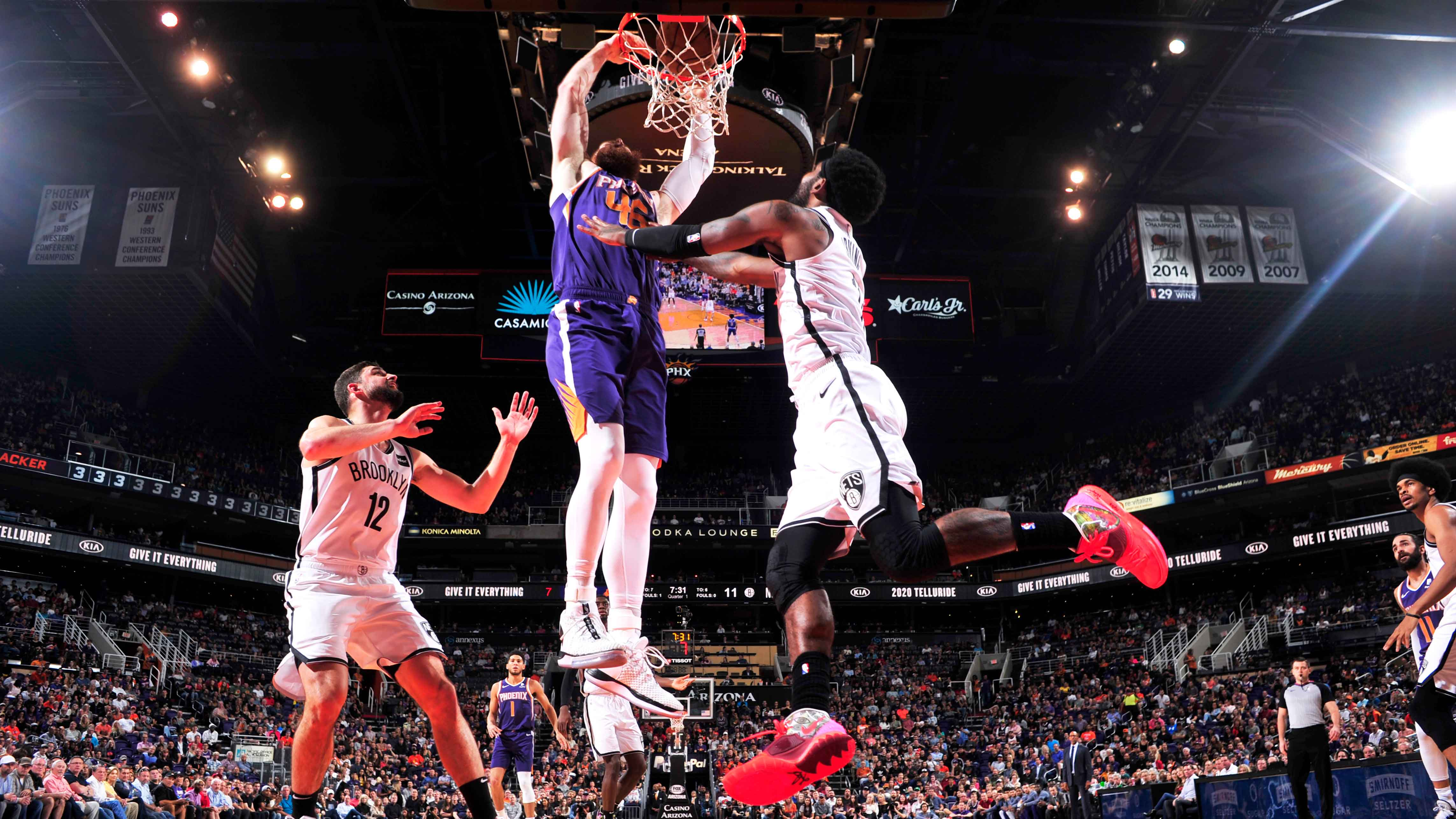11.11.19. Обзор. GAME RECAP: Suns 138, Nets 112