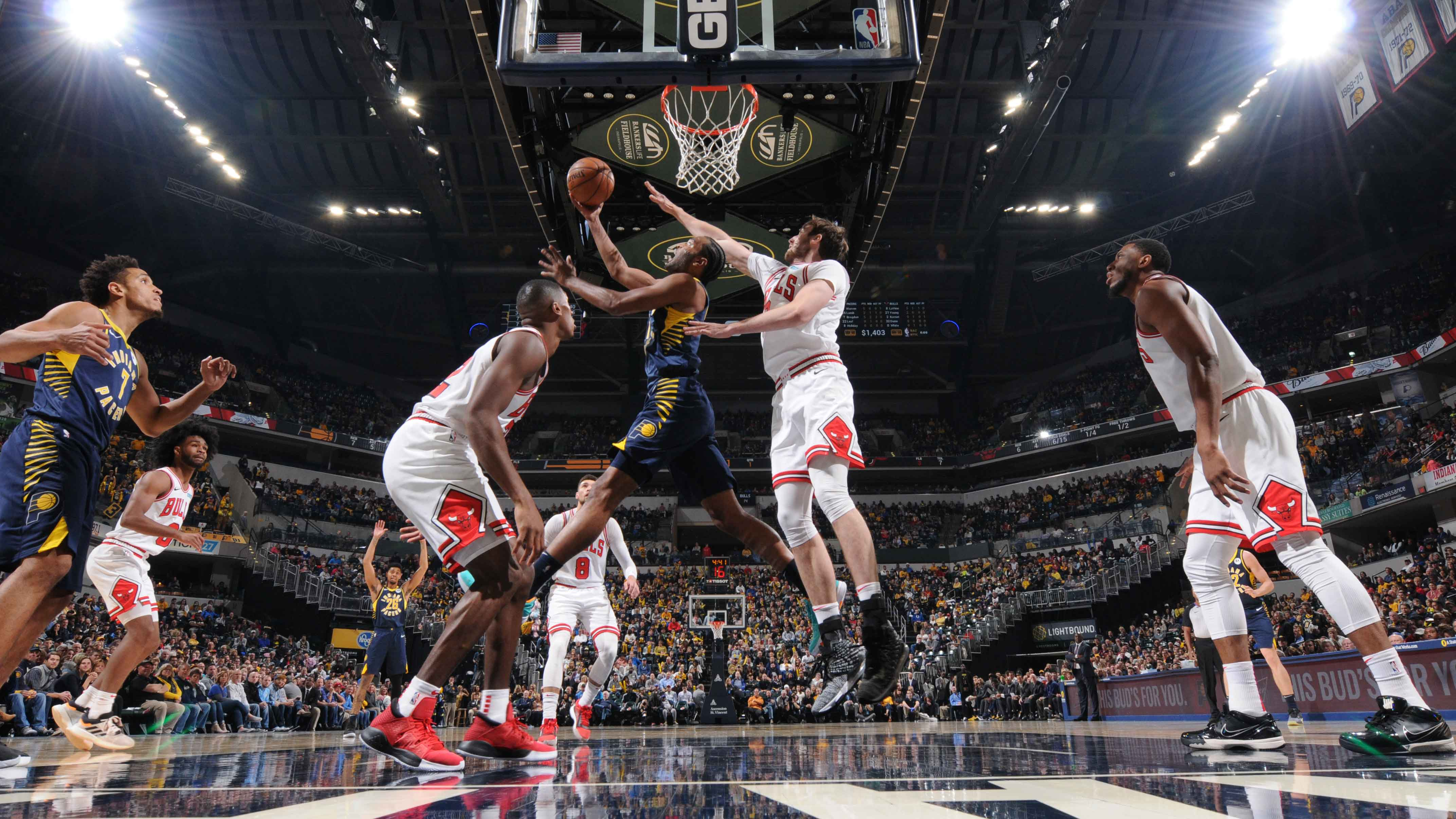 GAME RECAP: Pacers 108, Bulls 95