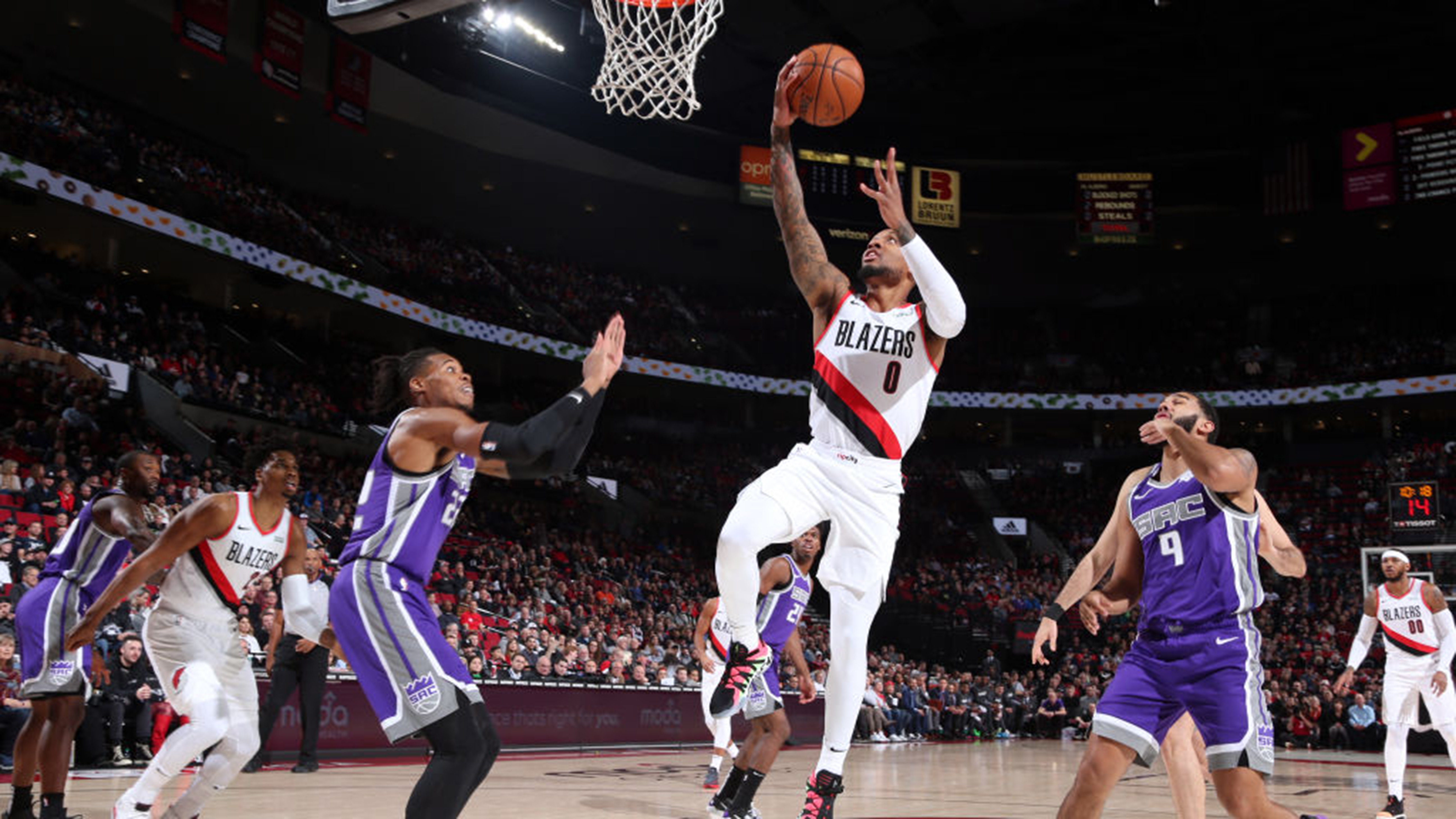 05.12.19. Обзор. GAME RECAP: Trail Blazers 127, Kings 116