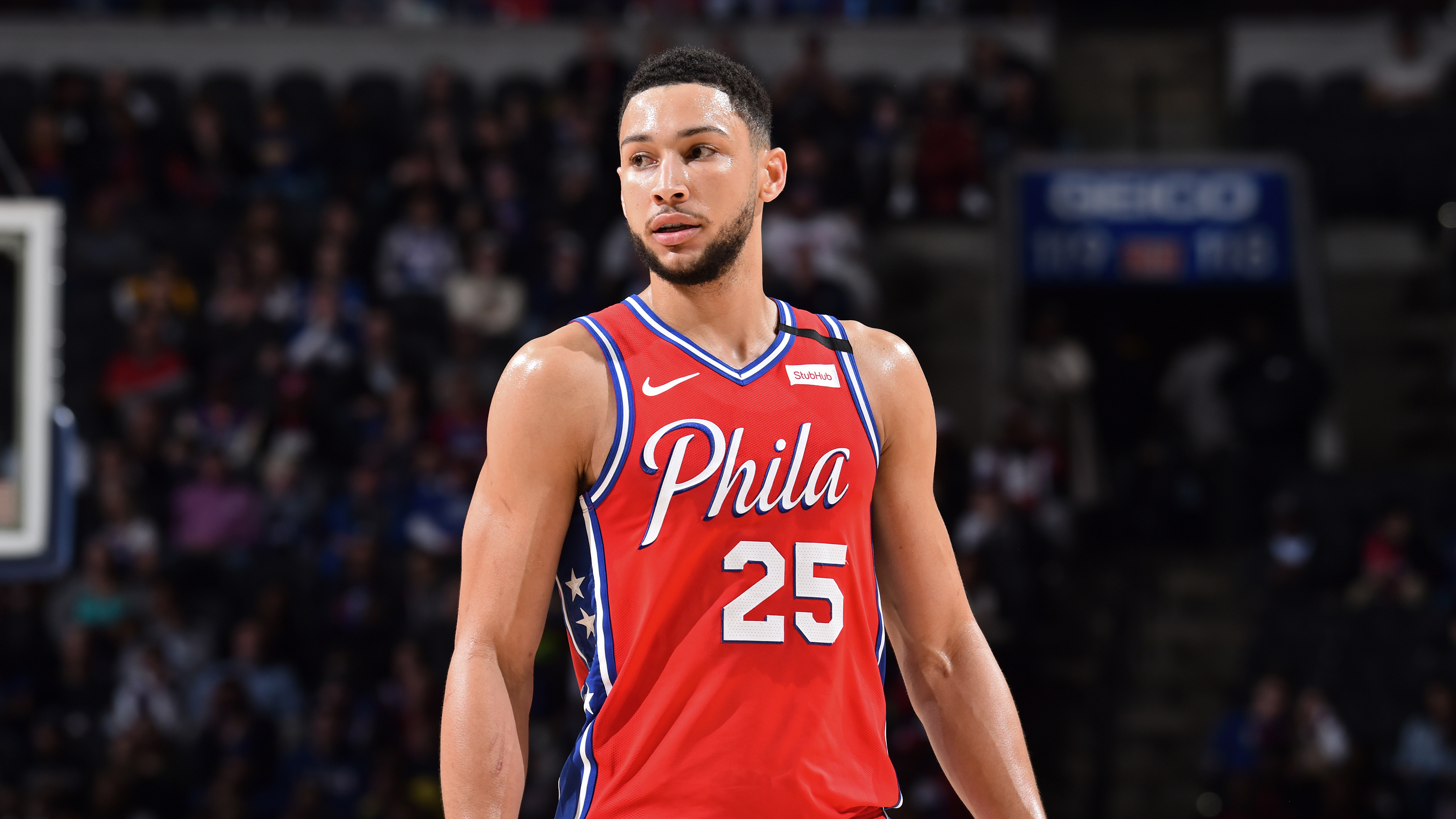 The 24-year old son of father (?) and mother(?) Ben Simmons in 2020 photo. Ben Simmons earned a million dollar salary - leaving the net worth at million in 2020