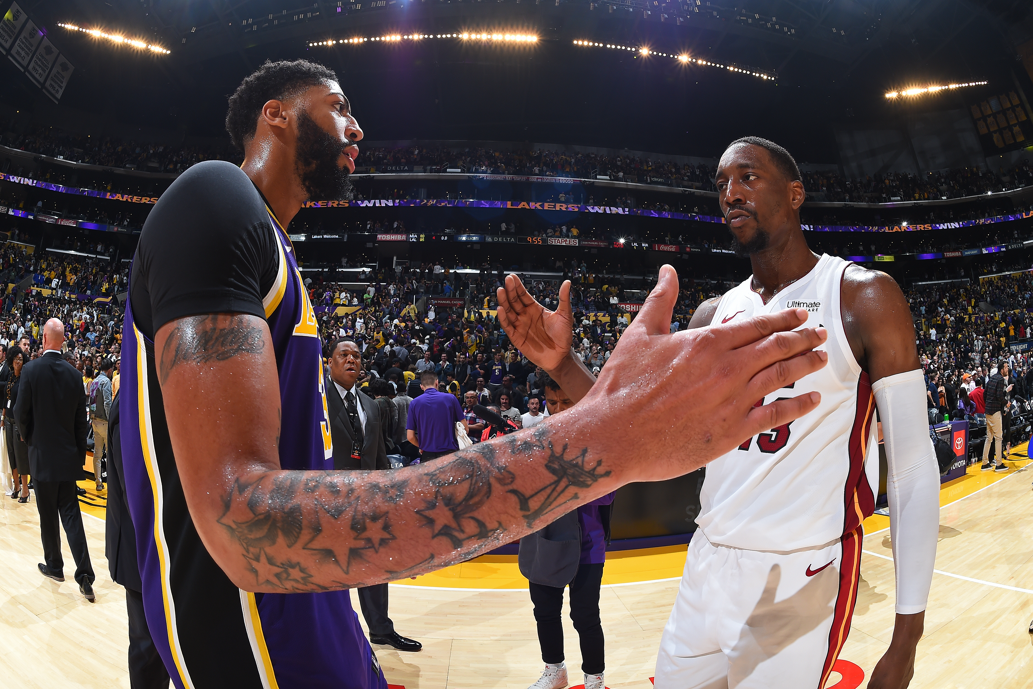 Numbers Preview The Finals Los Angeles Lakers Vs Miami Heat Nba Com