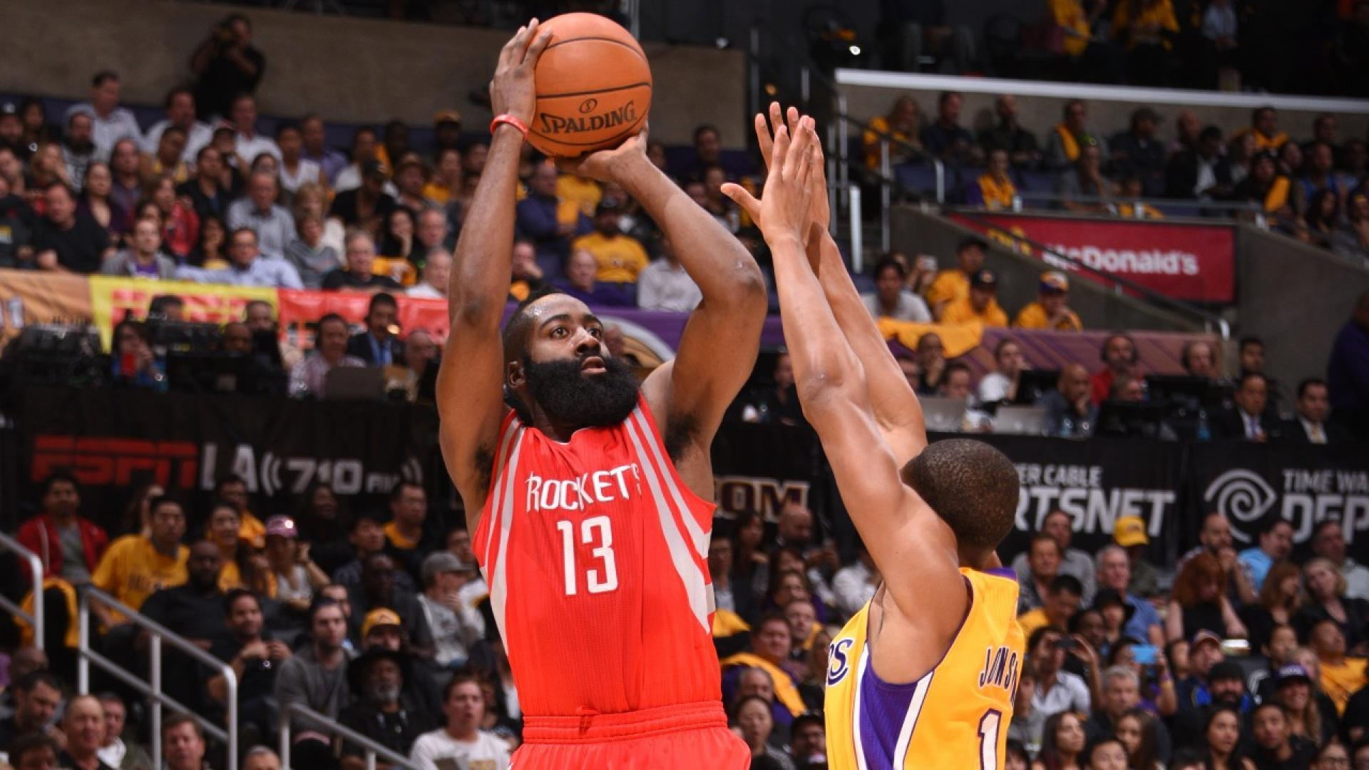 5b848ef0cf68 Foot Locker 3-Point Contest  James Harden