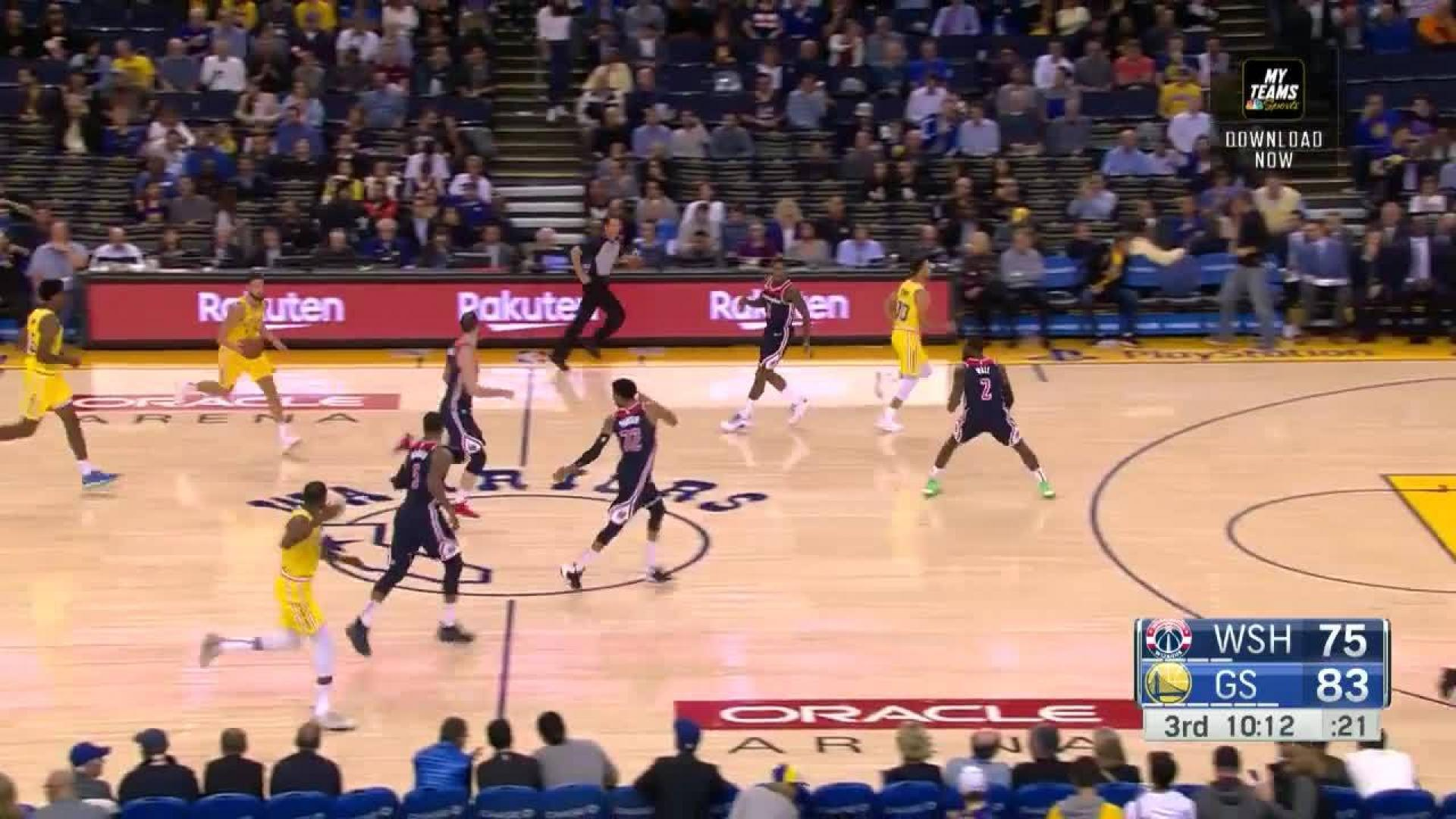 Dunk by Kevin Durant in the third quarter | NBA com