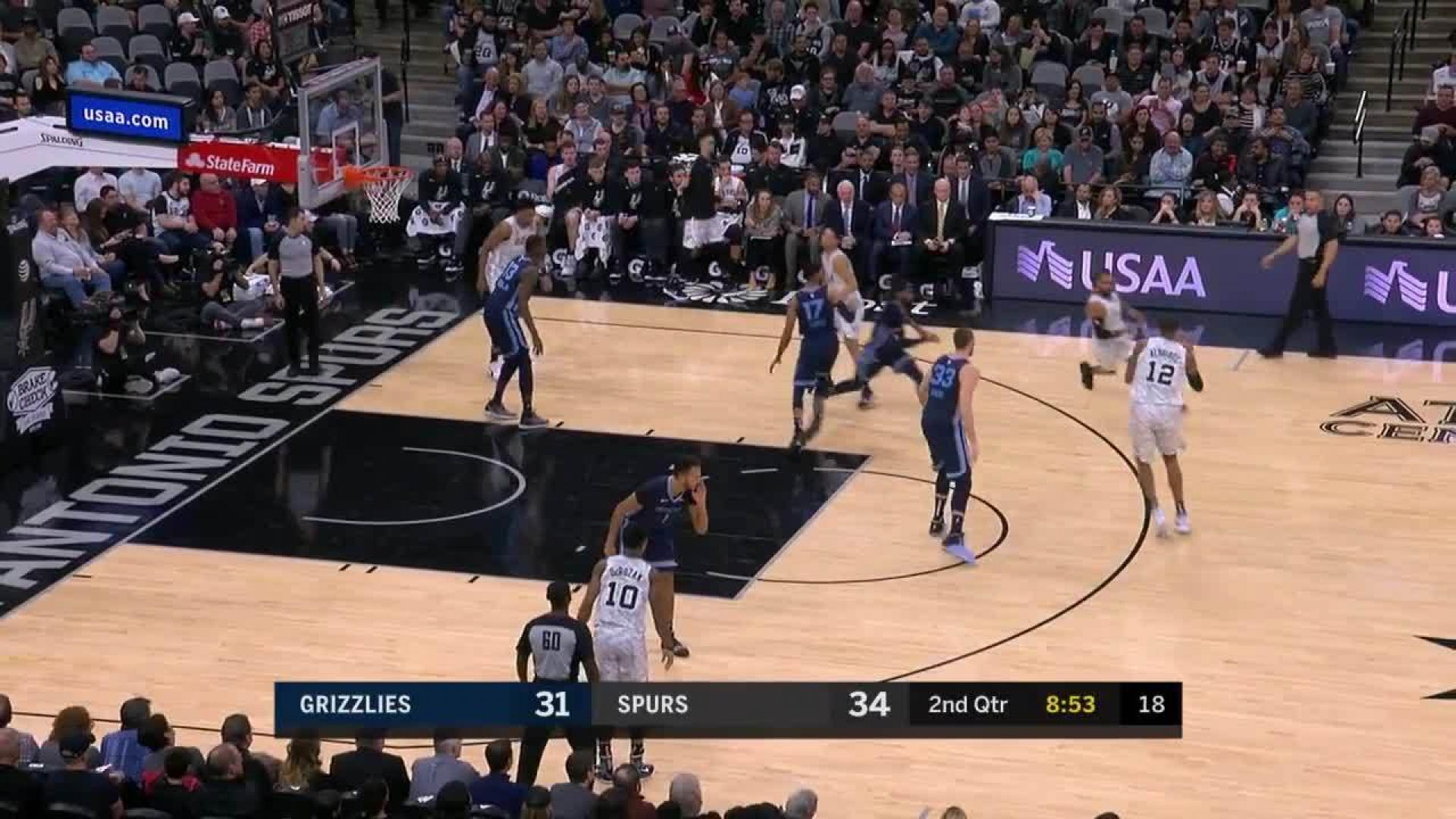 Dunk By Demar Derozan In The Second Quarter