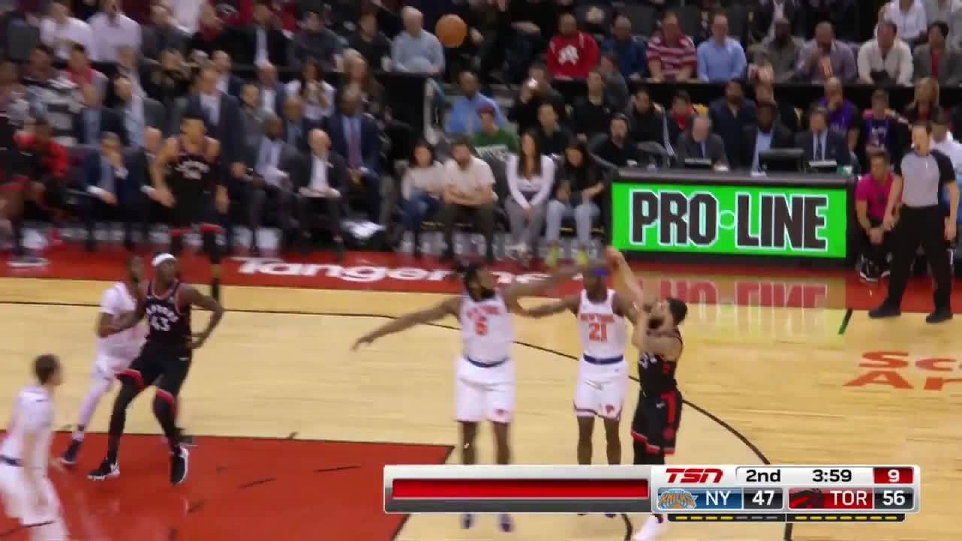 Lowry Three-Pointer in the second quarter  c231d5ac8