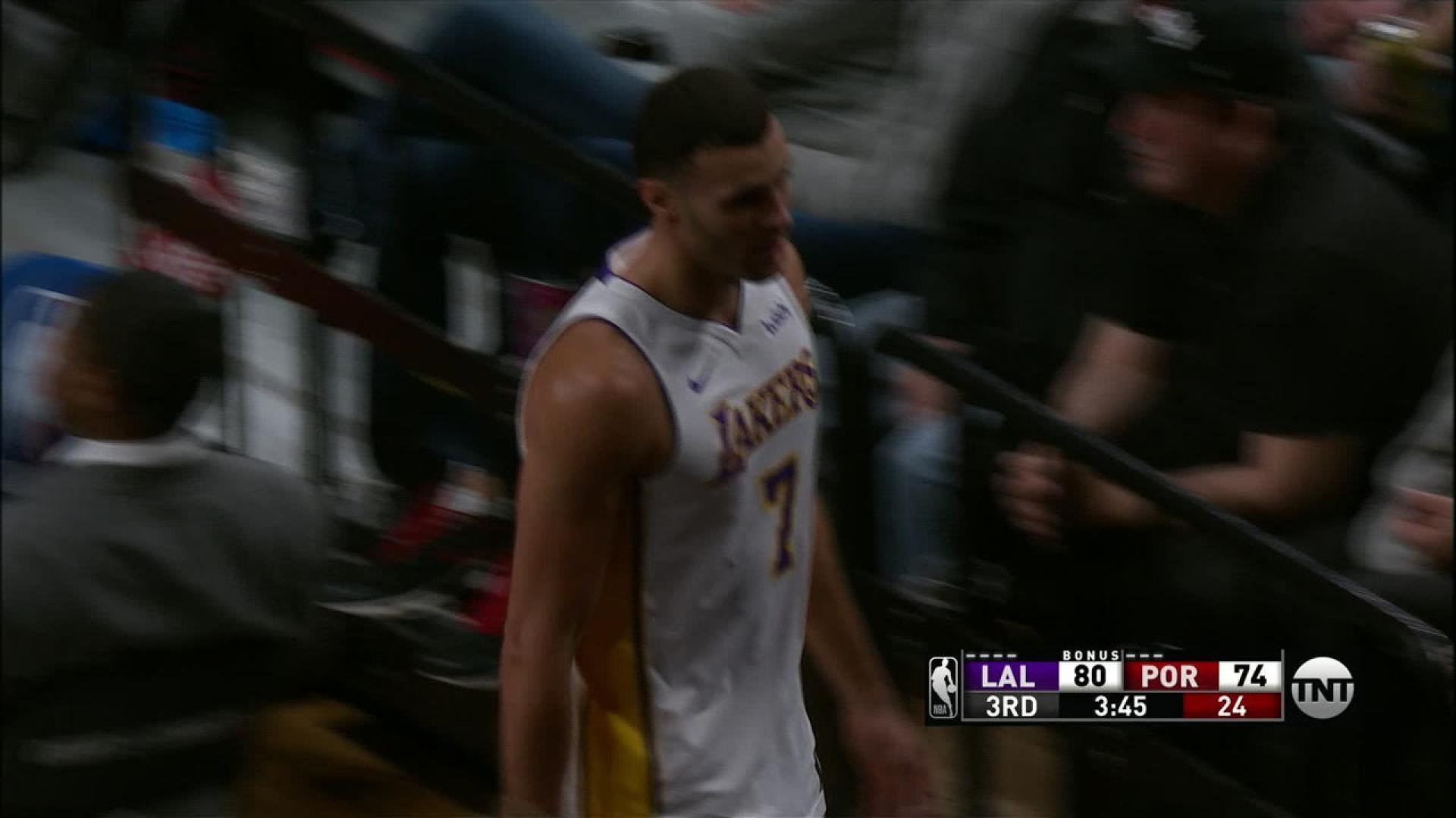 af6b2f48cf89 Los Angeles Lakers forward Larry Nance Jr. expected to be out four ...
