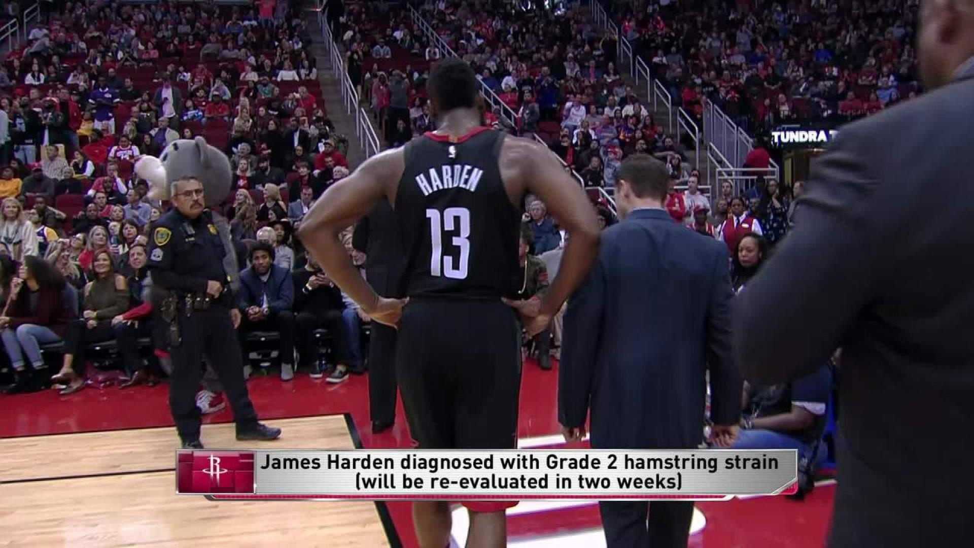 Rockets star out at least two weeks