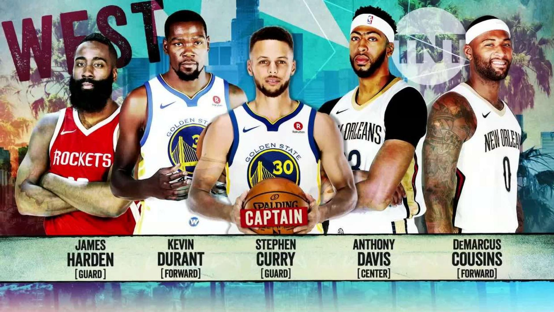 LeBron James, Steph Curry named captains as All-Star starters are revealed | NBA.com