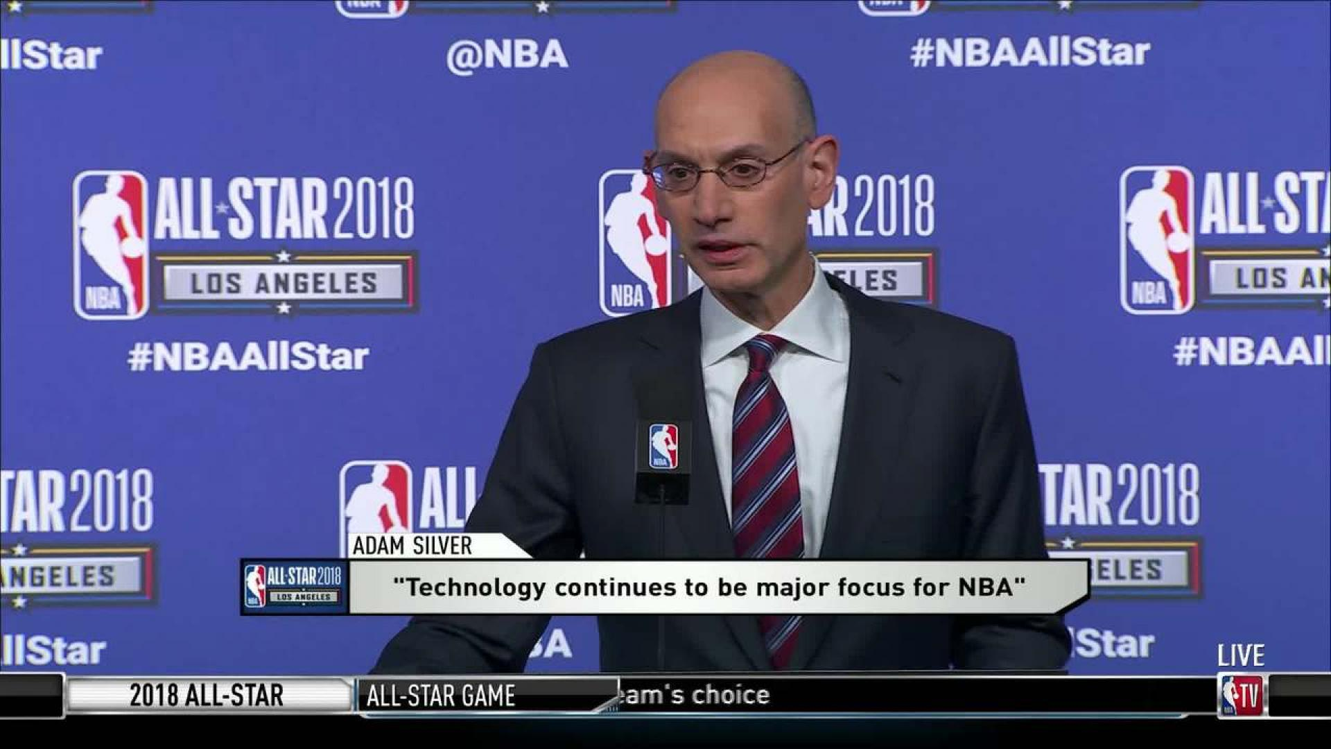Adam Silver Floats Possibility Of Radical Changes To NBA Playoff Format