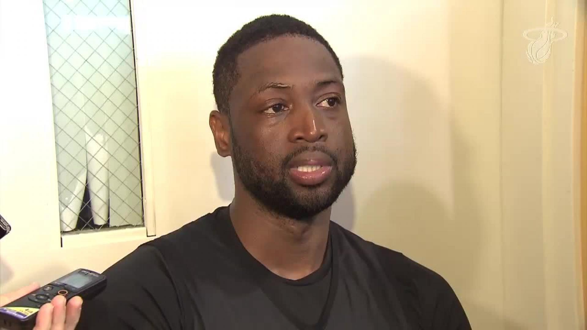 Dwyane Wade  can t put into words  that Parkland shooting victim was buried  in his jersey 2a5da747c