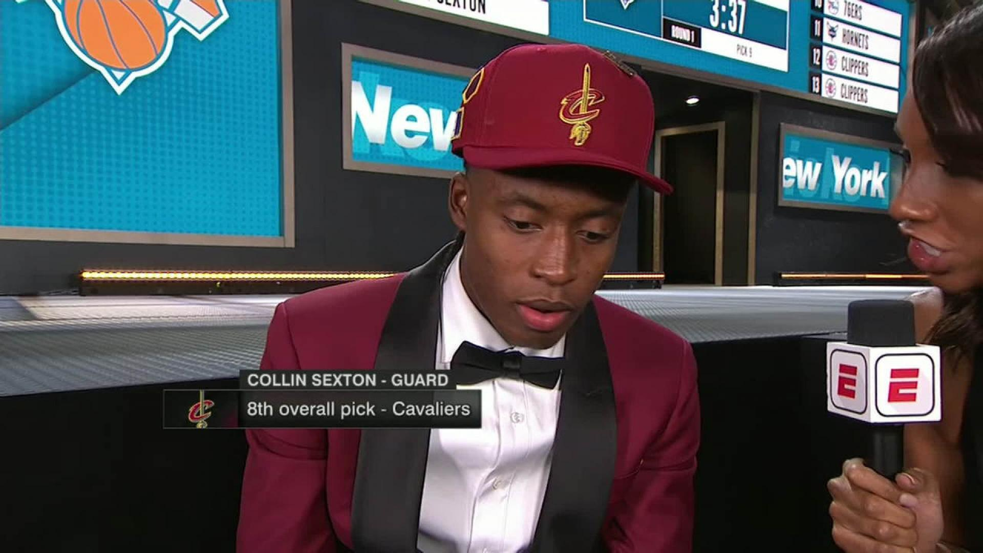 1817bf130c49 Cleveland Cavaliers select Alabama s Collin Sexton to help convince LeBron  James to stay