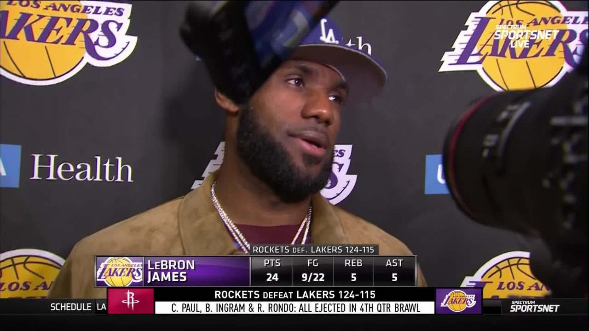 best sneakers 4b97b 9ebdb LeBron James Postgame Interview | NBA.com