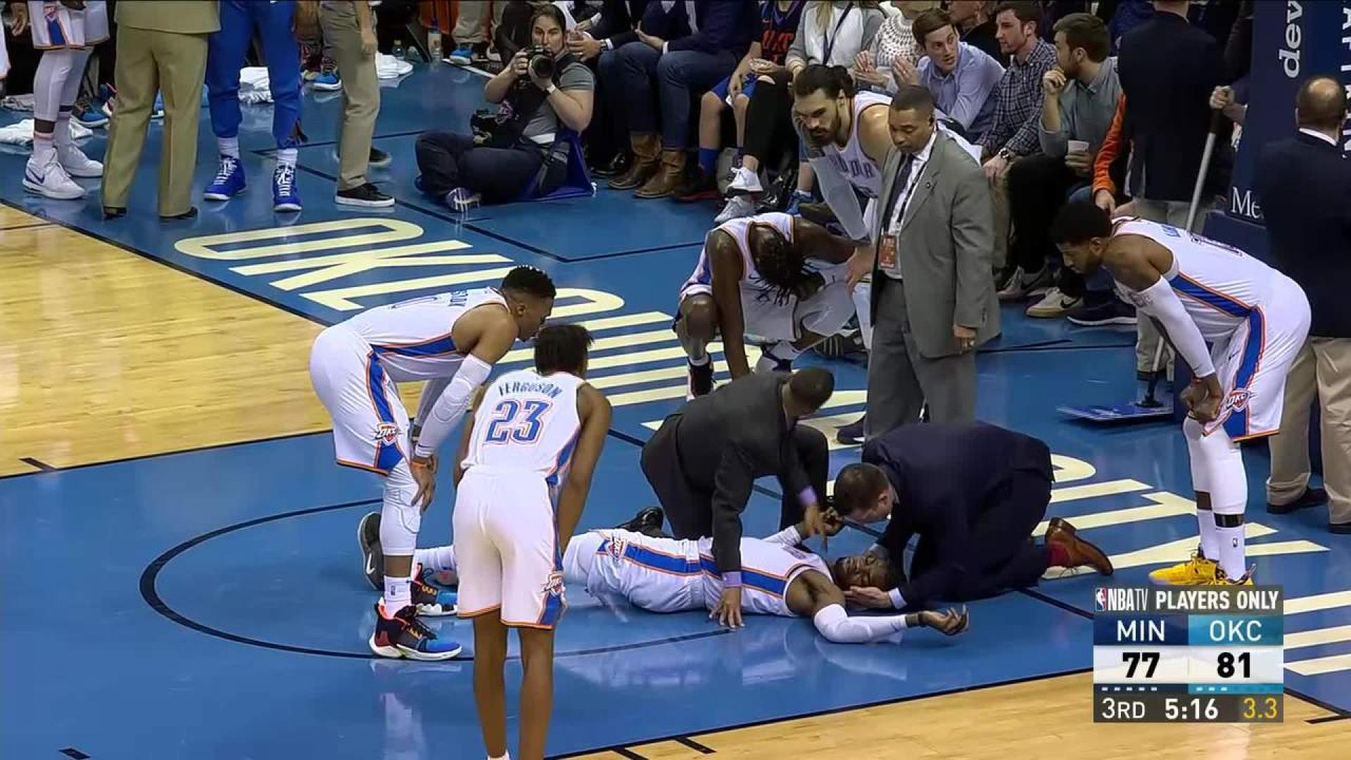 Thunders Noel Diagnosed With Concussion Nbacom