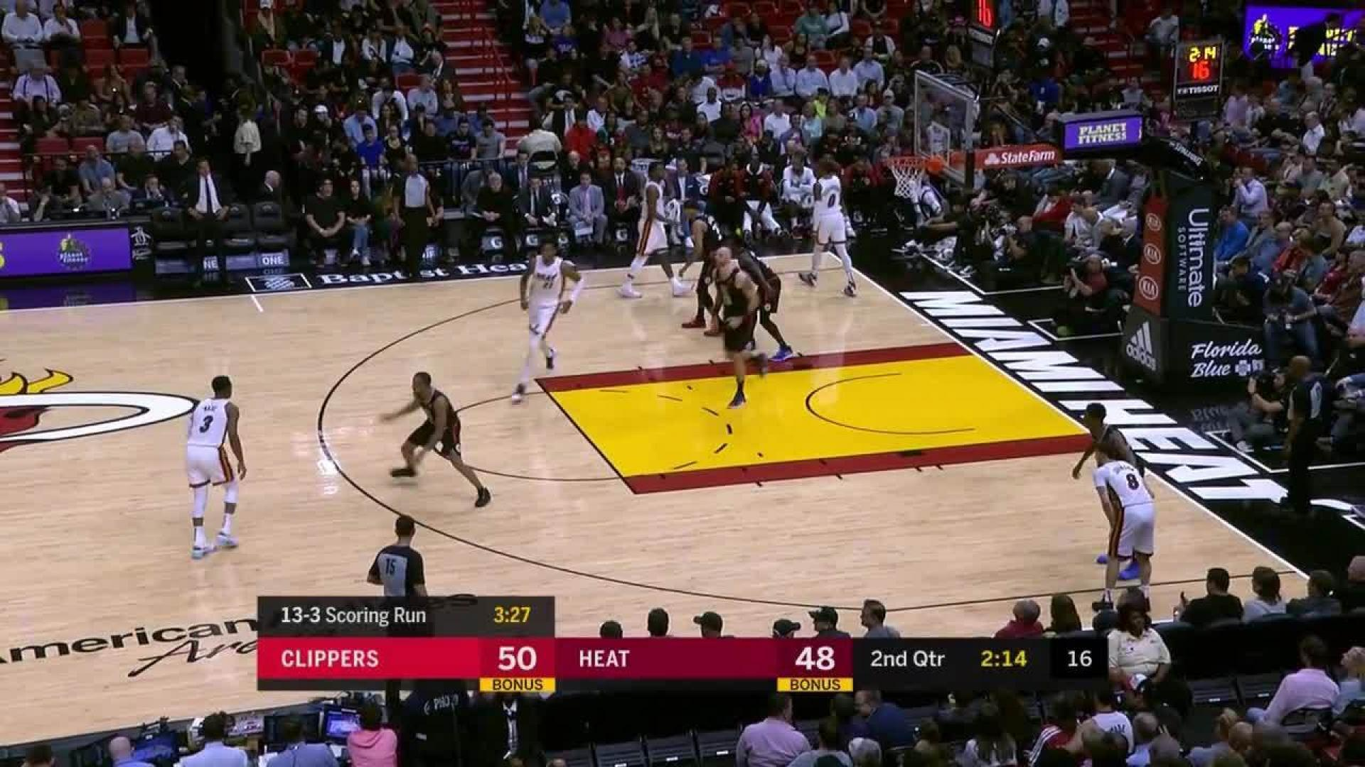 Dwyane Wade Spins And Hits The Floater In The Lane | NBA com