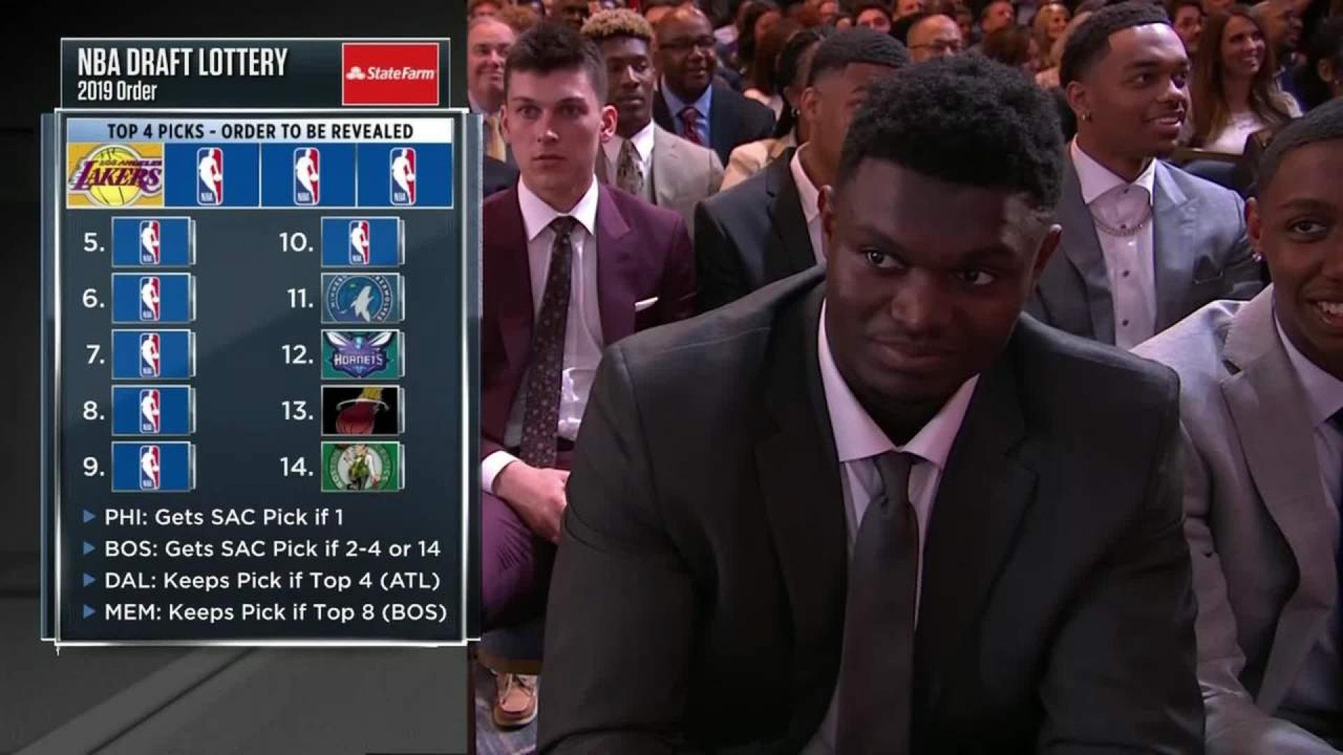 Draft Order From Picks 14 To 5 Nba Com