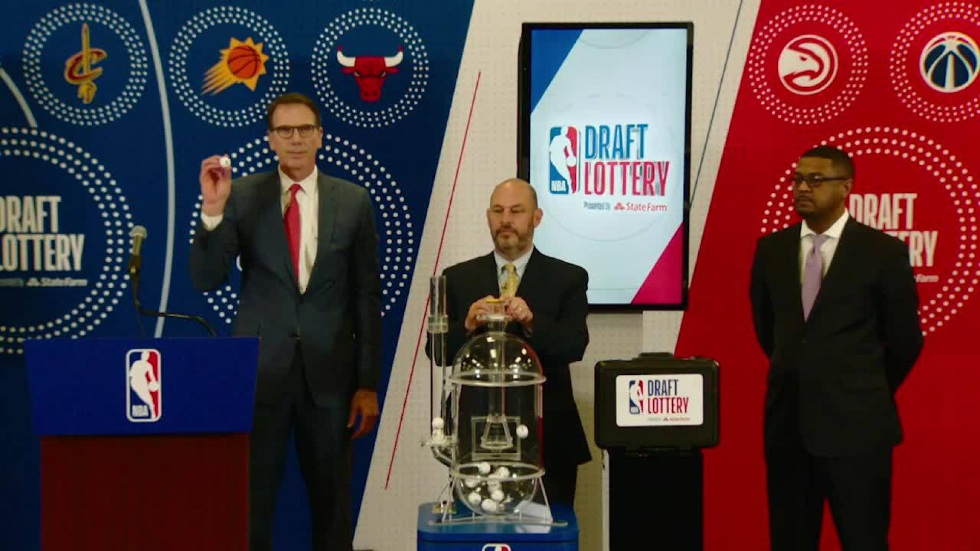 2019 NBA Lottery Results & 1-60 Draft Order | NBA com