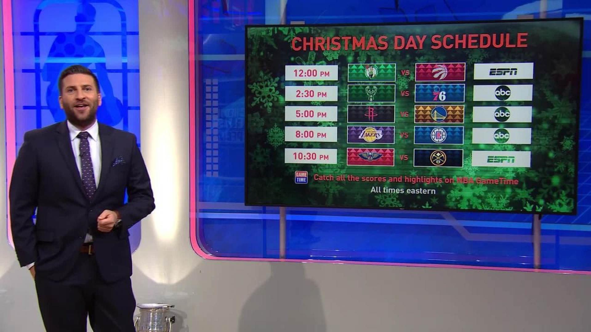 Christmas Day Nba Games 2019.Nba Unveils 2019 20 Game And National Television Schedules