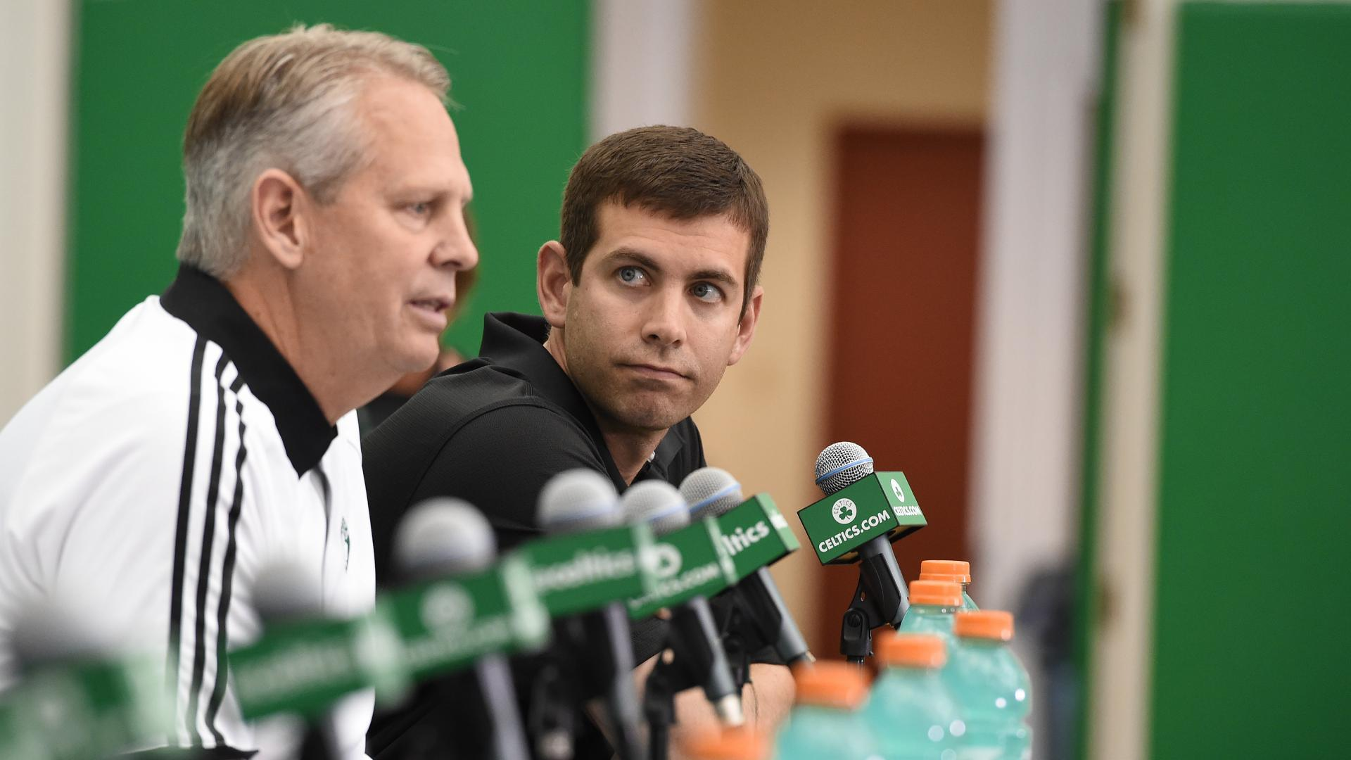 In trading No 1 pick Danny Ainge stays true to his path for