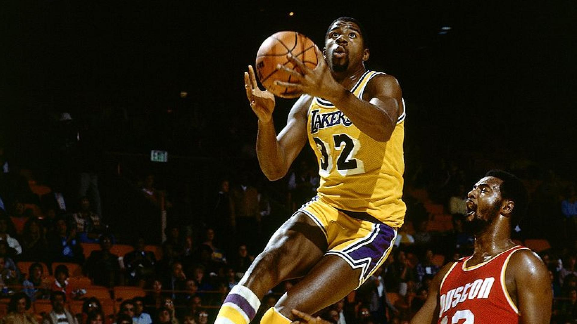 db82a551d203 Magic Johnson s size and playmaking ability made him stand out in NBA lore.