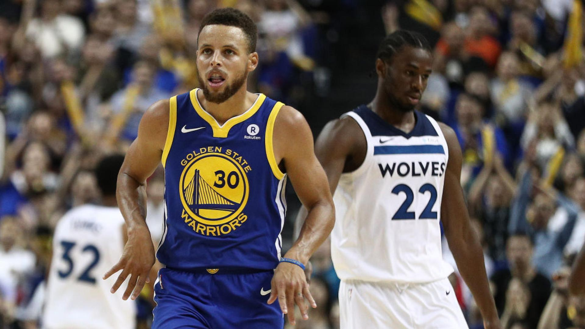 95631dc48ad Stephen Curry scores 40 points against Timberwolves in China