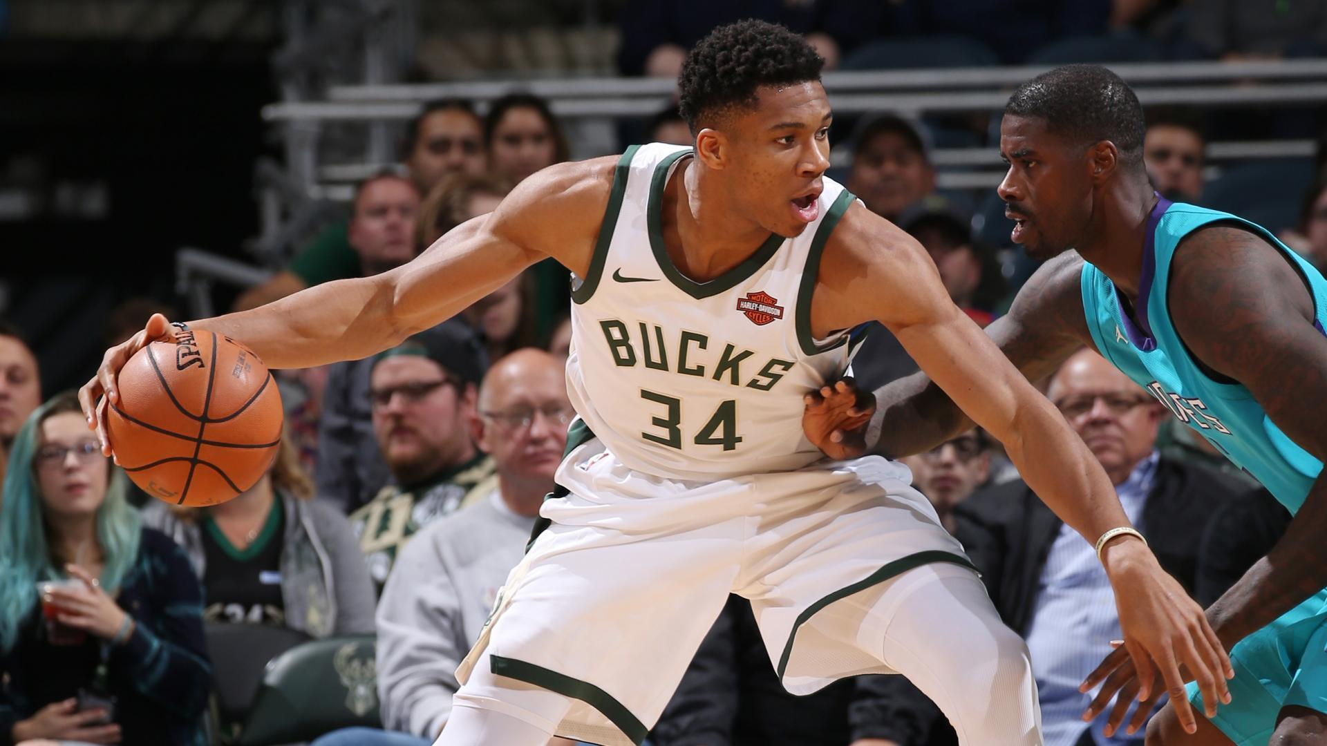 Onslaught of Milwaukee Bucks star Giannis Antetokounmpo continues ... c35339802