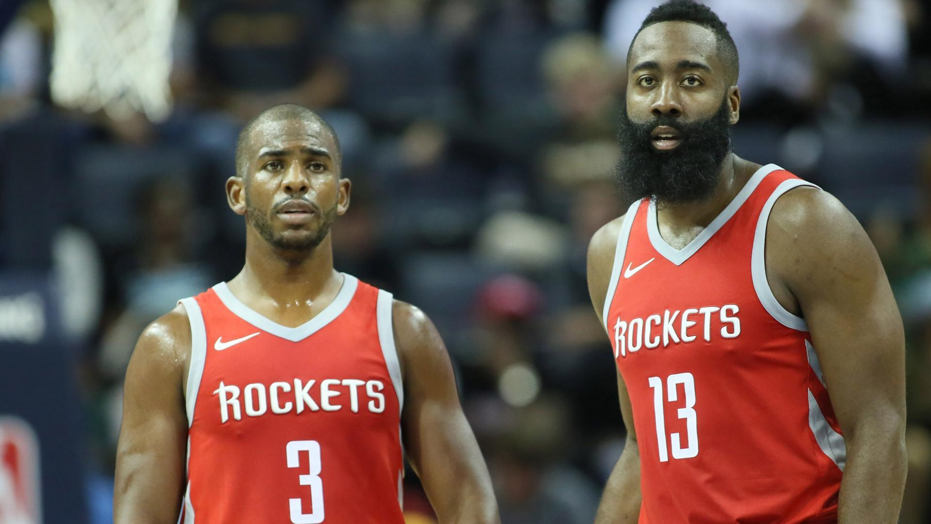 Chris Paul to miss Rockets' home opener with sore knee