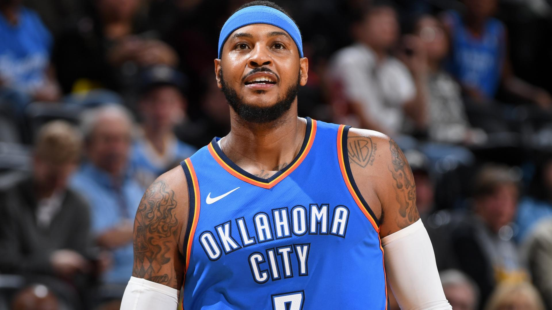 Blogtable Would The Oklahoma City Thunder Benefit From Shifting Carmelo Anthony Into A Bench Role