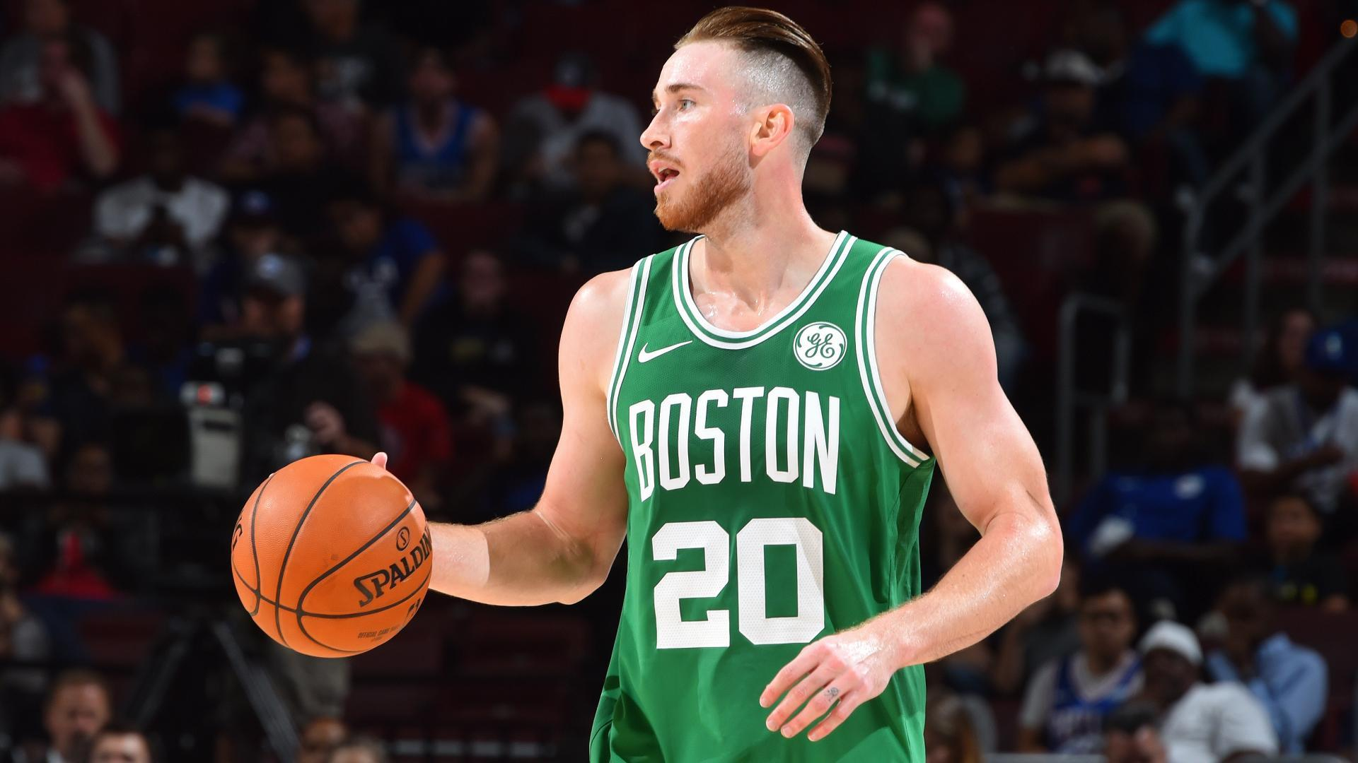 Boston fans are ready to see Gordon Hayward back in action this season. b663702ff