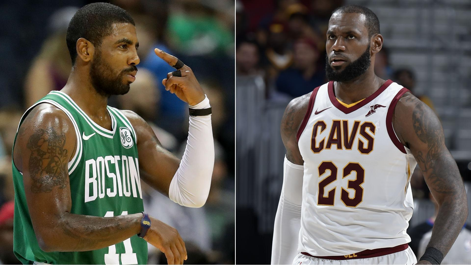3cea8ea0f0af Kyrie Irving trade only ratchets up already high intensity for season s  first game