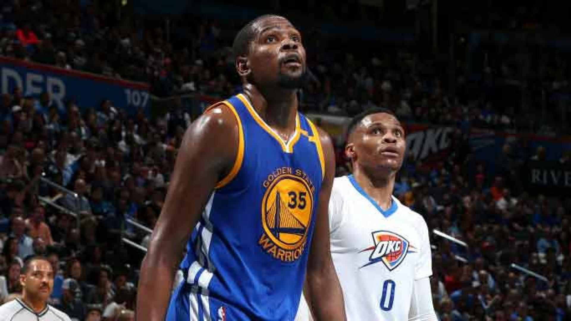 Kevin Durant, who sprained his ankle Saturday, is questionable against Thunder