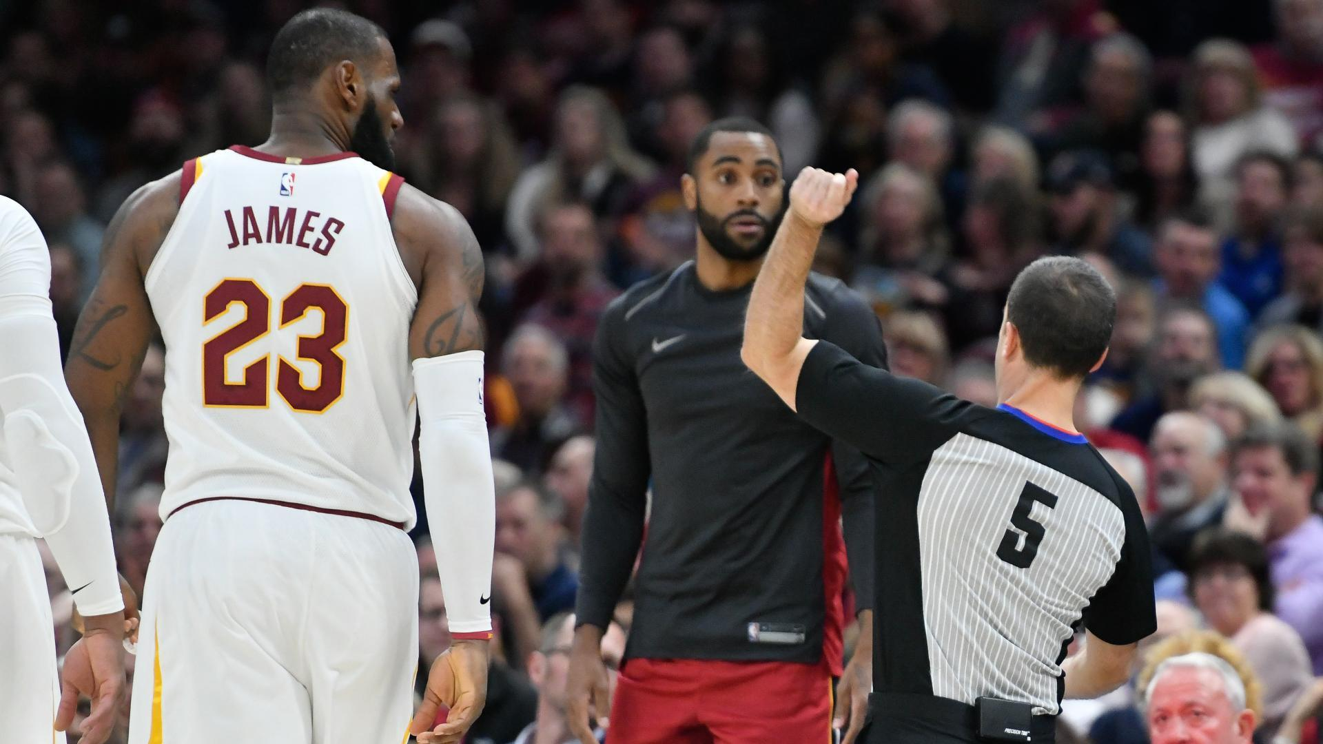 Image result for lebron ejected