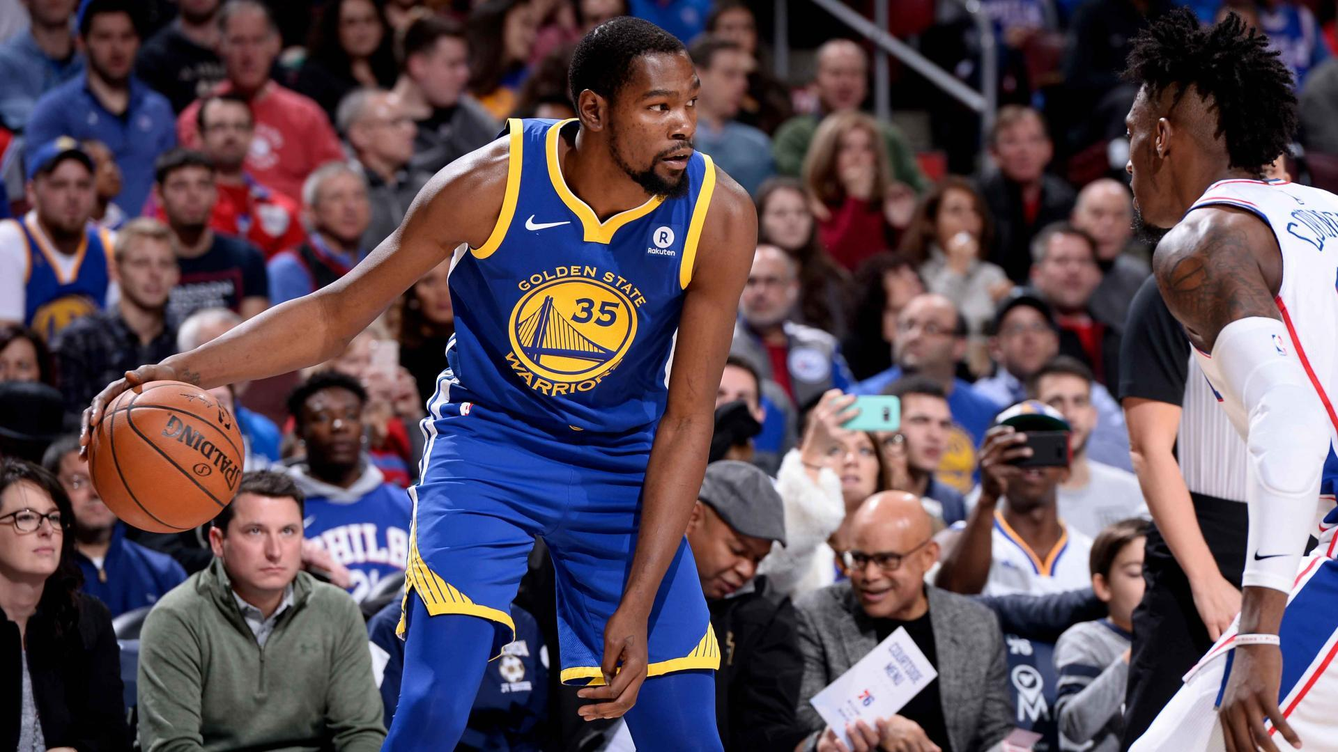 golden-state-warriors-kevin-durant-to-rest-sunday-with-sprained-ankle