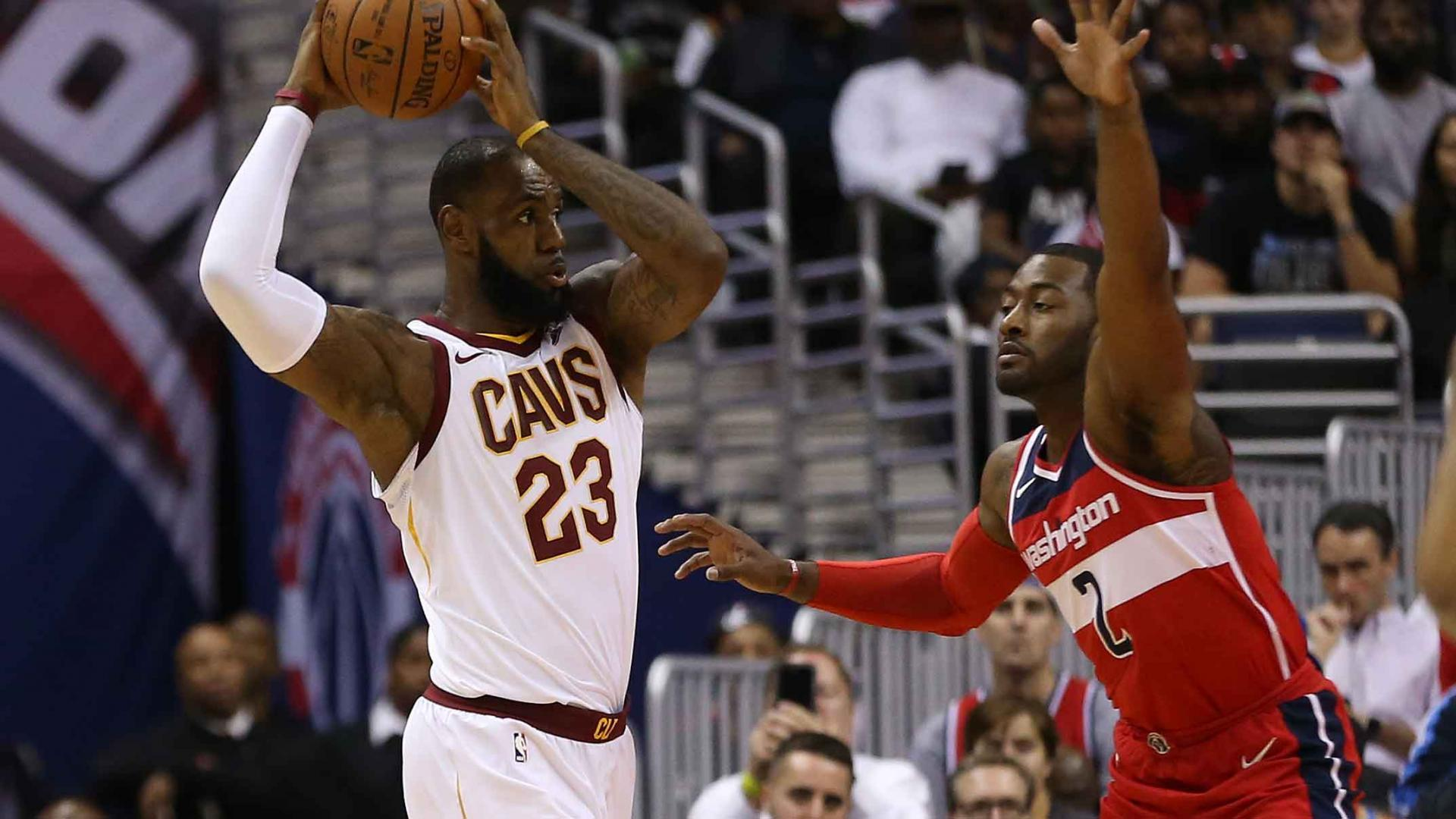 2d9003657a6e LeBron James silences confident Wizards with milestone-filled performance