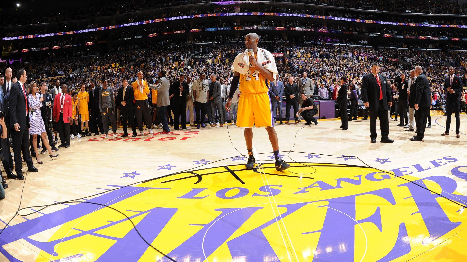 dc1111ca9364 This Week In History  Kobe Bryant announces plan to retire at end of  2015-16 season