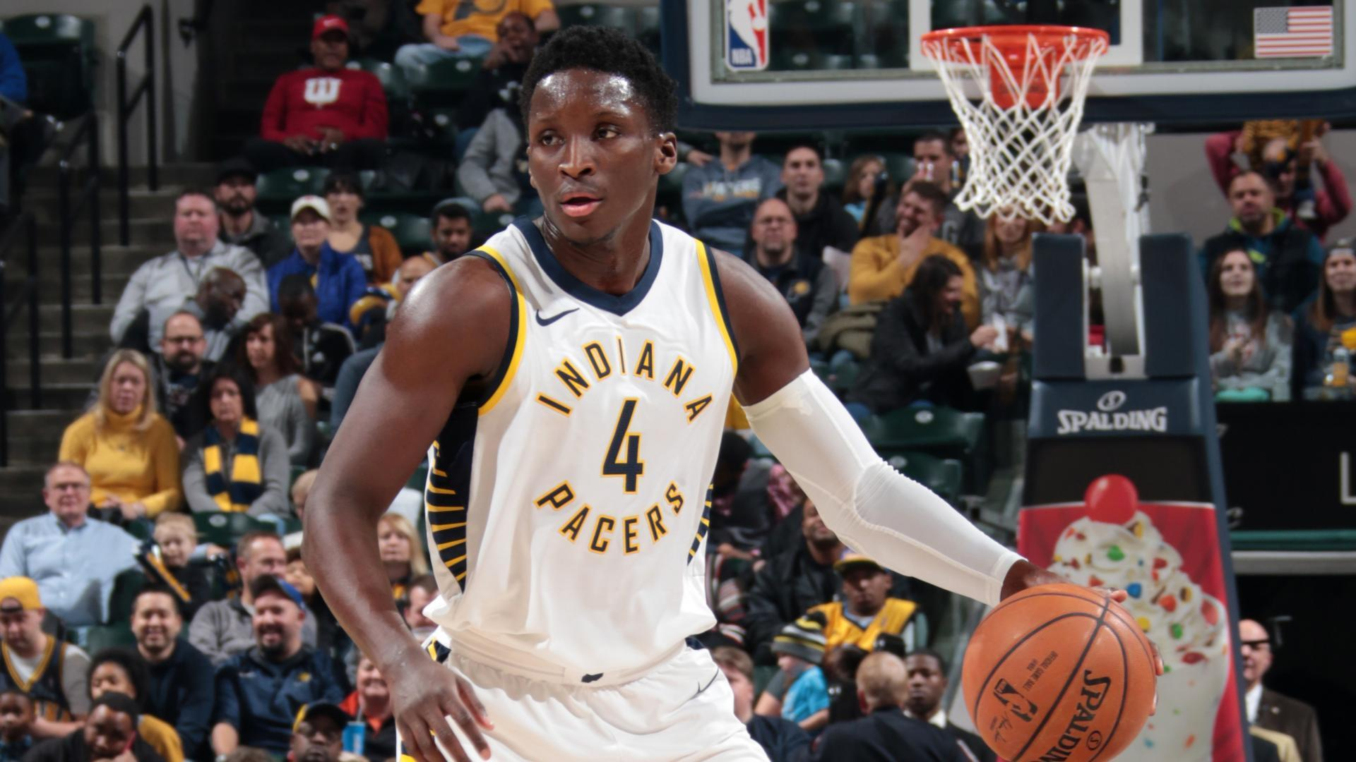 National Basketball Association roundup: Pacers' Oladipo scores 47 in OT win