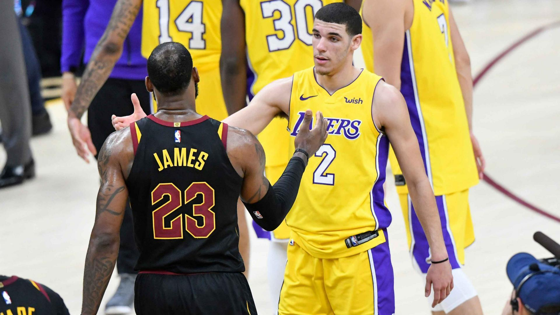 665003783551 Lonzo Ball  LeBron James  best player in the world right now