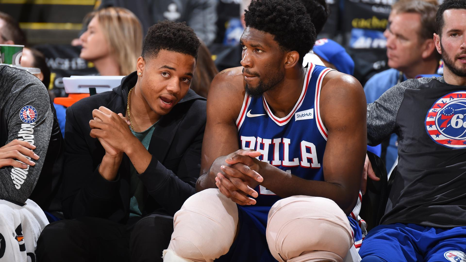 Karl-Anthony Towns on Joel Embiid's trolling on Twitter