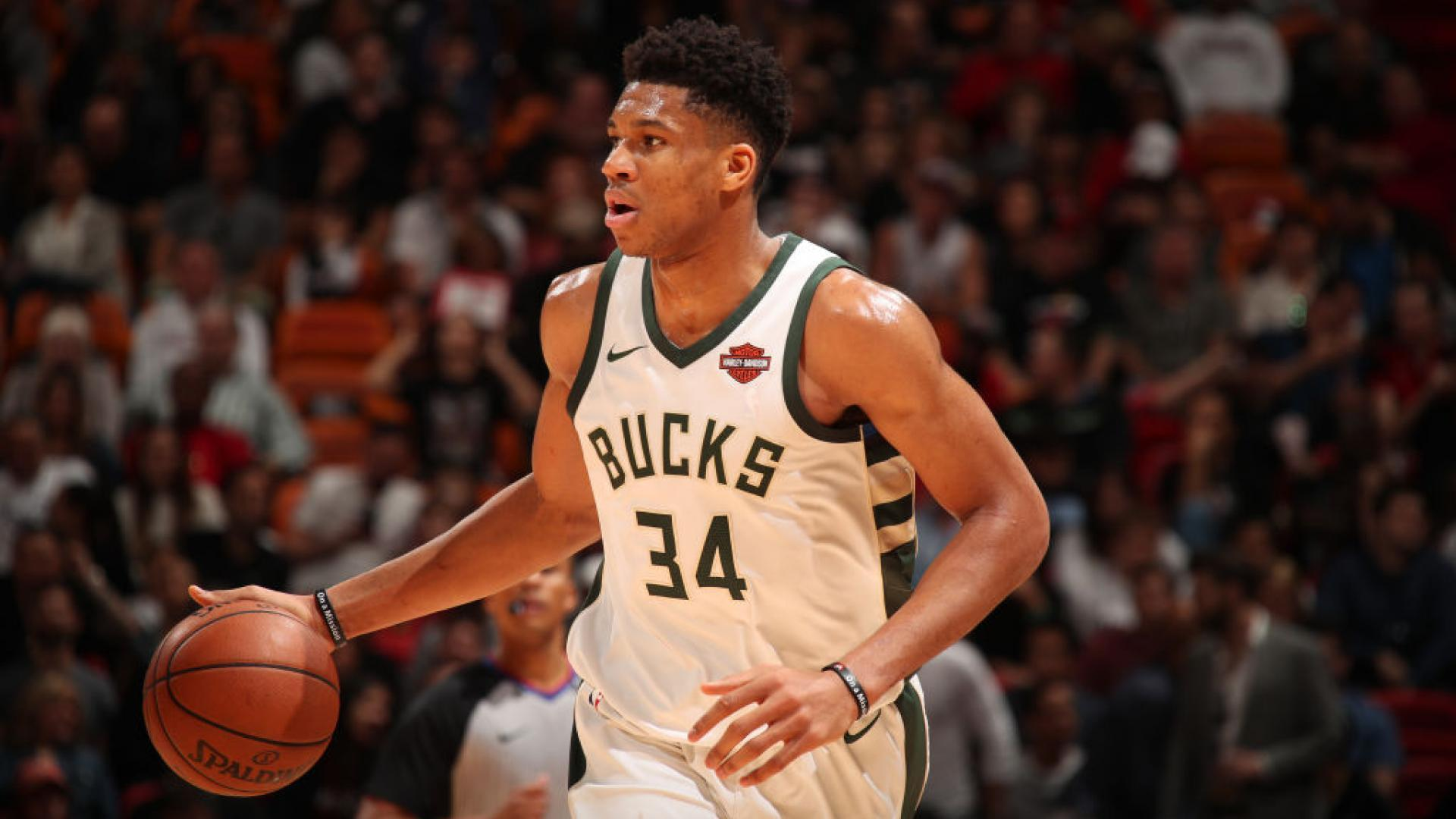Milwaukee Bucks forward Giannis Antetokounmpo logs first career 20-point 156ba2456