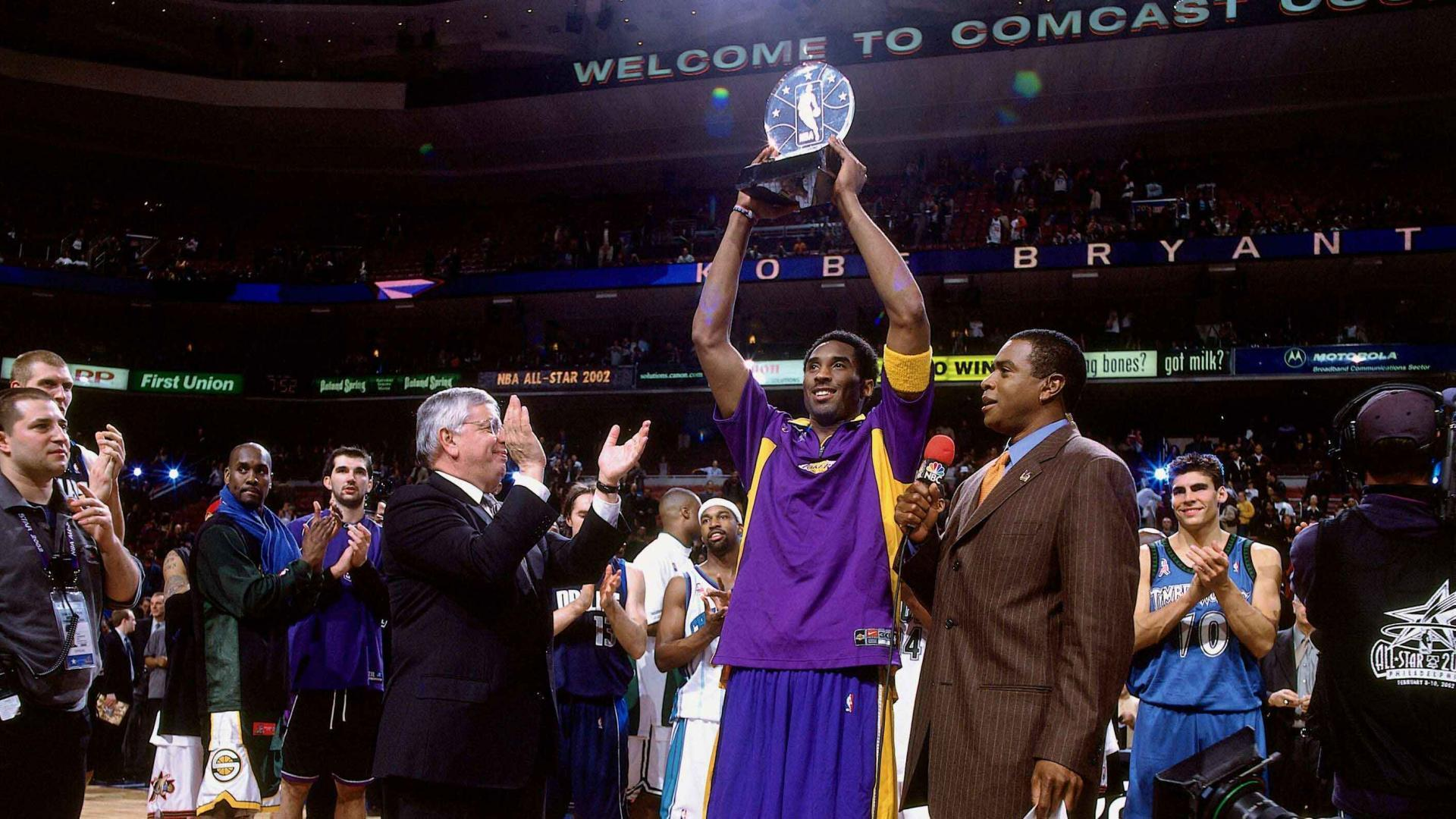 191f2822166 This Week in History  Kobe Bryant Wins All-Star Game MVP
